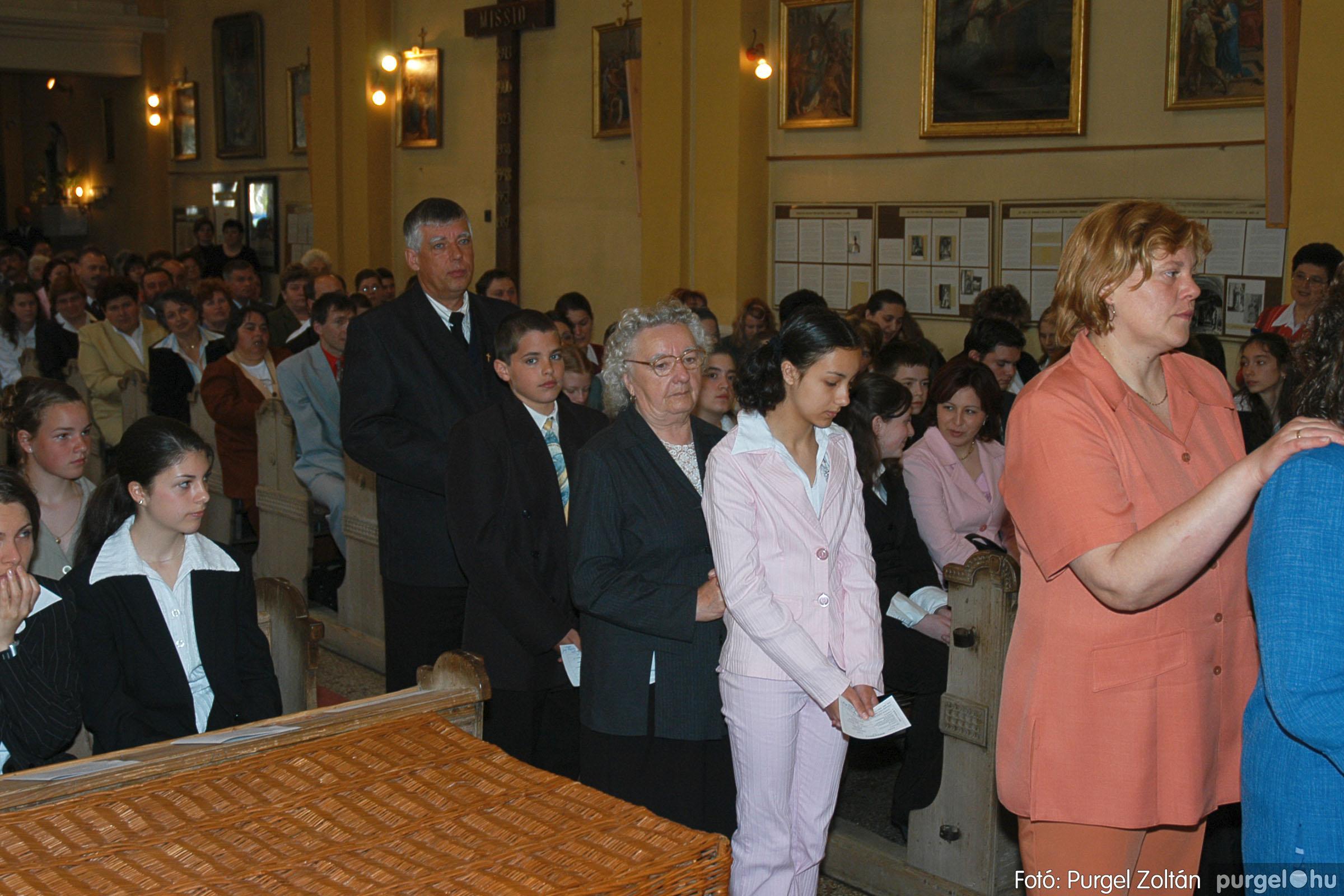 2005.05.15. 013 Kisboldogasszony templom bérmálkozás - Fotó:PURGEL ZOLTÁN© DSC_0016q.jpg