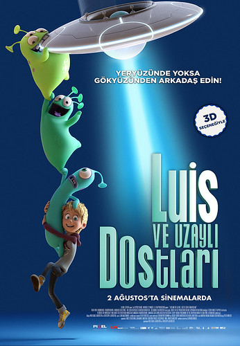Luis ve Uzaylı Dostları - Luis and the Aliens (2019)
