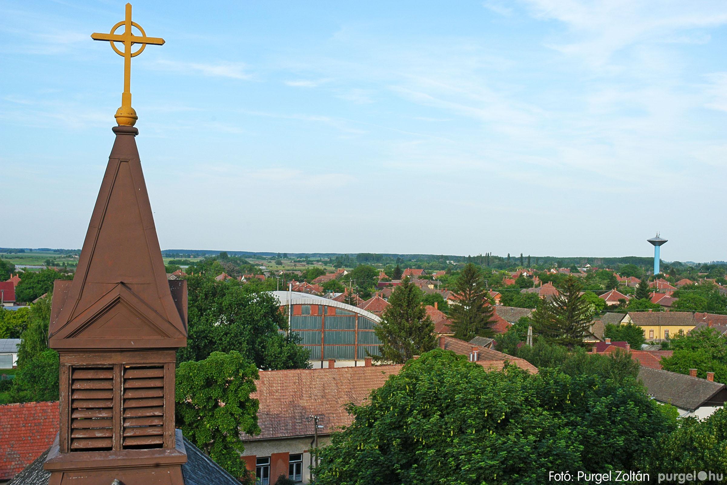 2005.05.30. 011 Kilátás a szegvári templom tornyából - Fotó:PURGEL ZOLTÁN© DSC_0317q.jpg