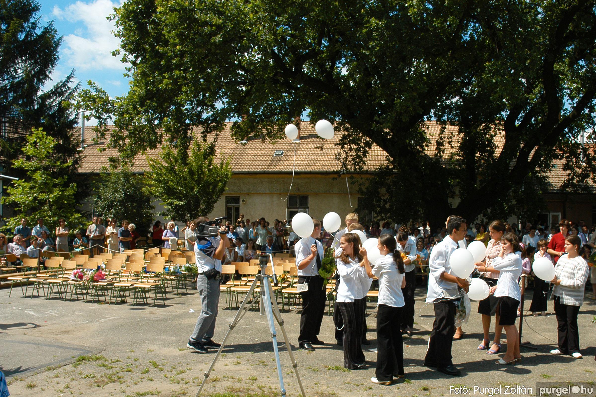 2005.06.18. 082 Forray Máté Általános Iskola ballagás 2005. - Fotó:PURGEL ZOLTÁN© DSC_0109q.jpg