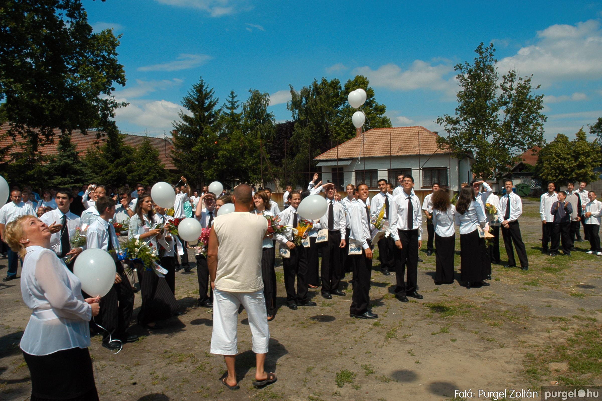 2005.06.18. 078 Forray Máté Általános Iskola ballagás 2005. - Fotó:PURGEL ZOLTÁN© DSC_0102q.jpg