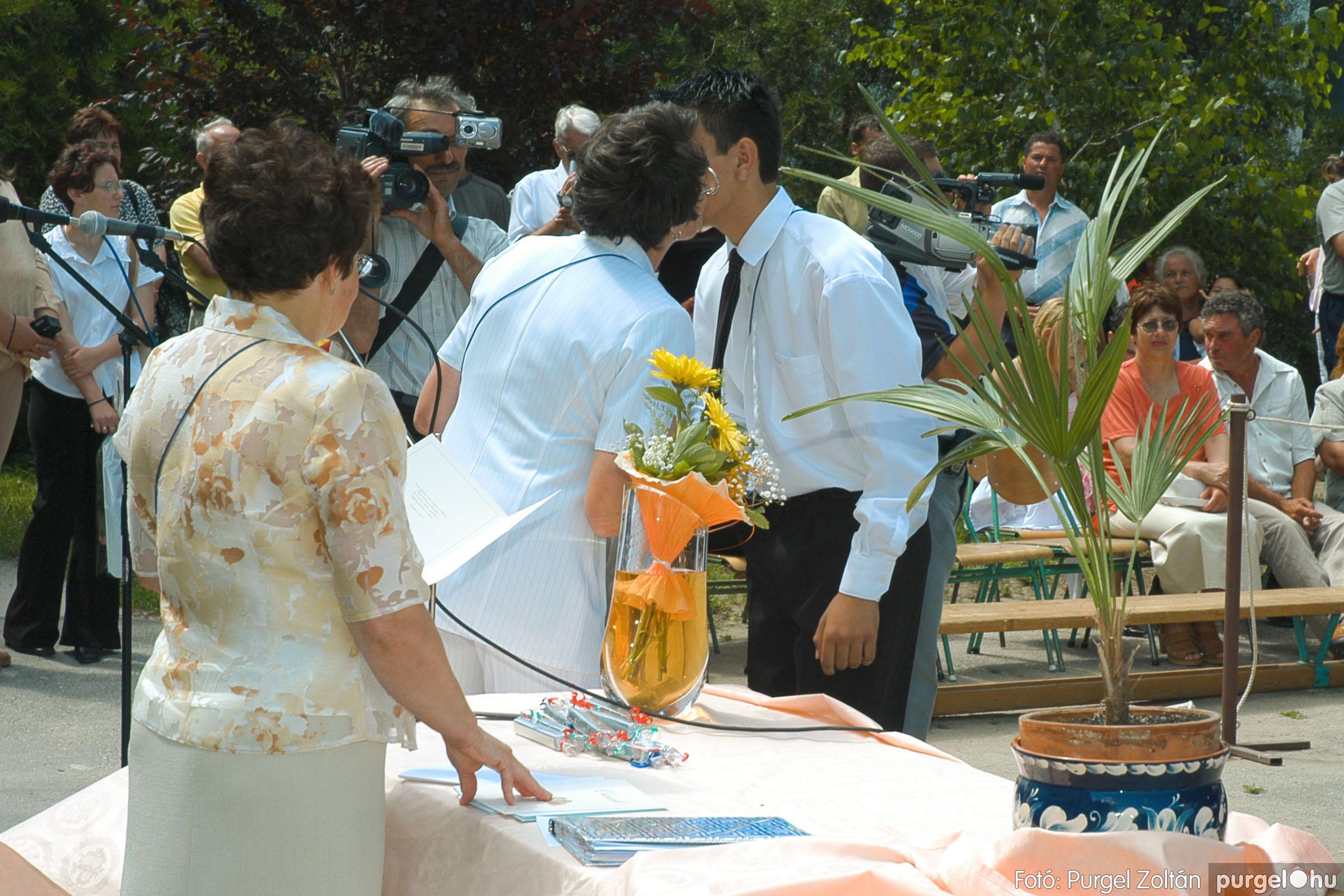 2005.06.18. 058 Forray Máté Általános Iskola ballagás 2005. - Fotó:PURGEL ZOLTÁN© DSC_0077q.jpg