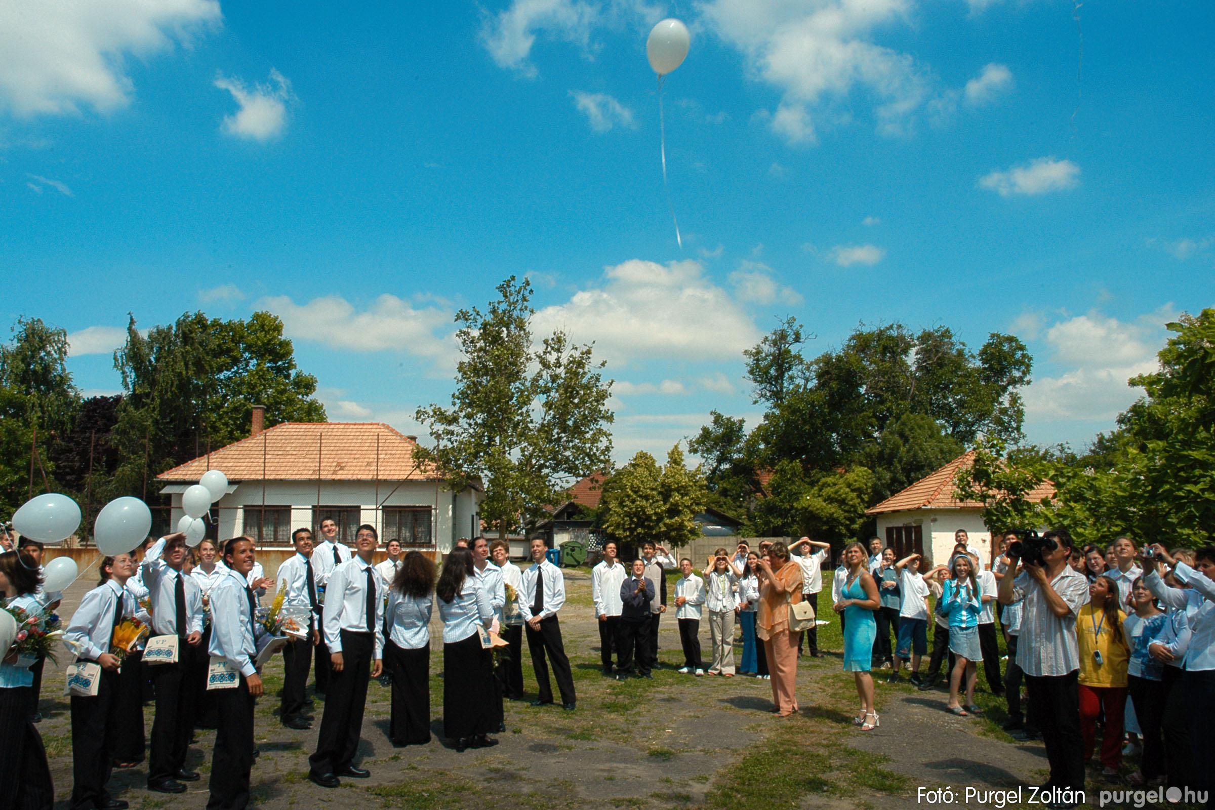 2005.06.18. 077 Forray Máté Általános Iskola ballagás 2005. - Fotó:PURGEL ZOLTÁN© DSC_0101q.jpg