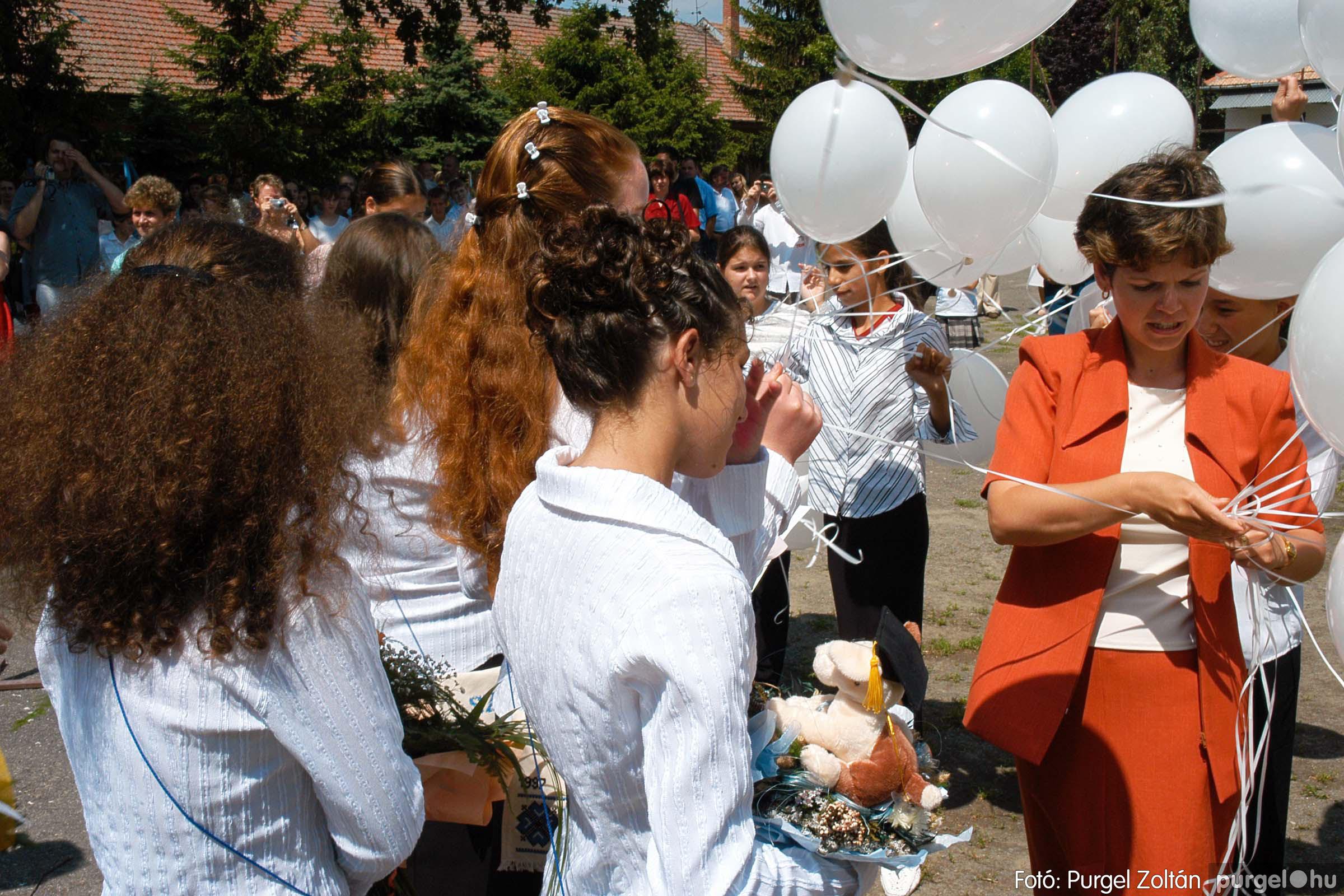 2005.06.18. 071 Forray Máté Általános Iskola ballagás 2005. - Fotó:PURGEL ZOLTÁN© DSC_0095q.jpg
