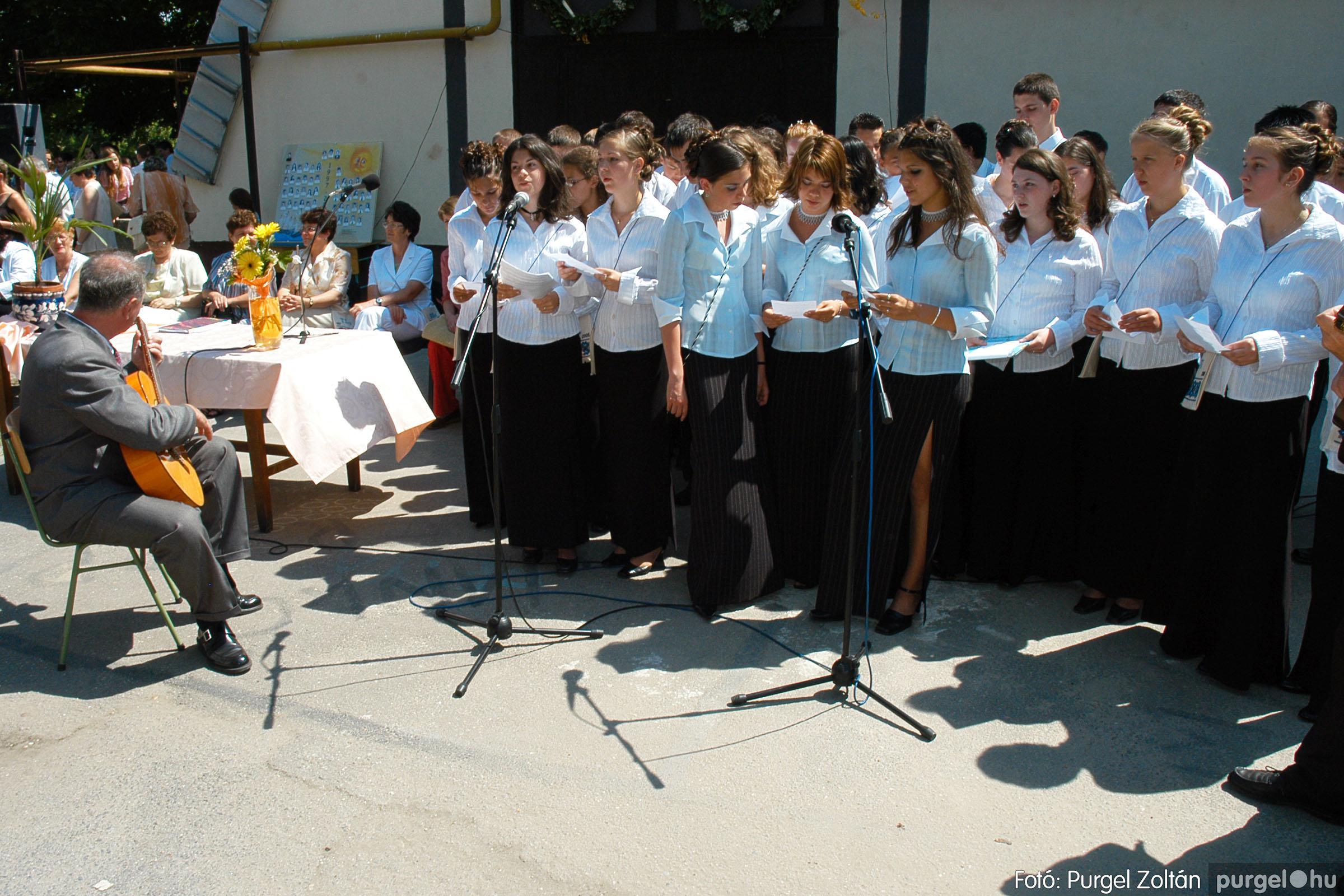 2005.06.18. 063 Forray Máté Általános Iskola ballagás 2005. - Fotó:PURGEL ZOLTÁN© DSC_0084q.jpg