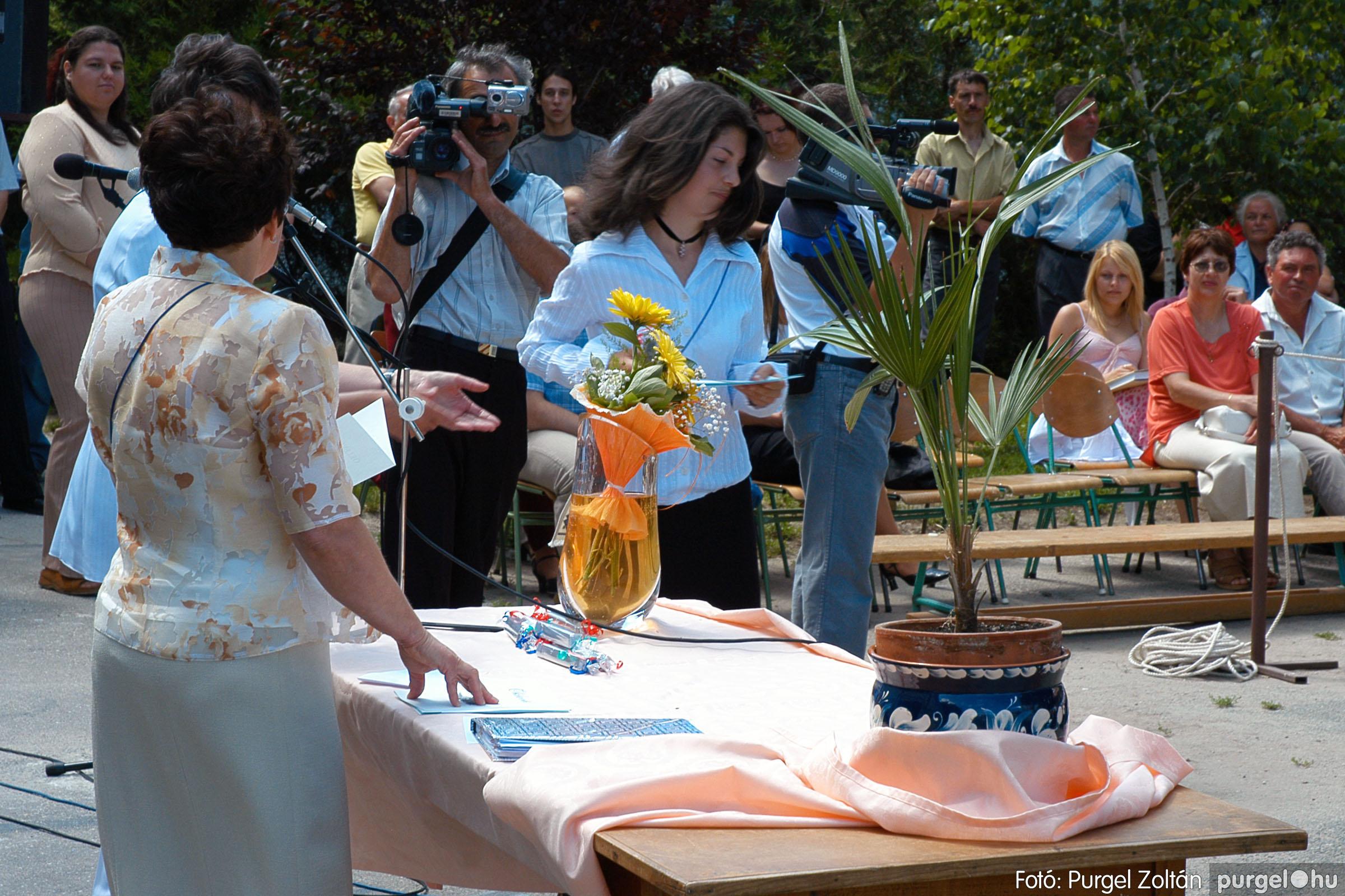 2005.06.18. 061 Forray Máté Általános Iskola ballagás 2005. - Fotó:PURGEL ZOLTÁN© DSC_0082q.jpg