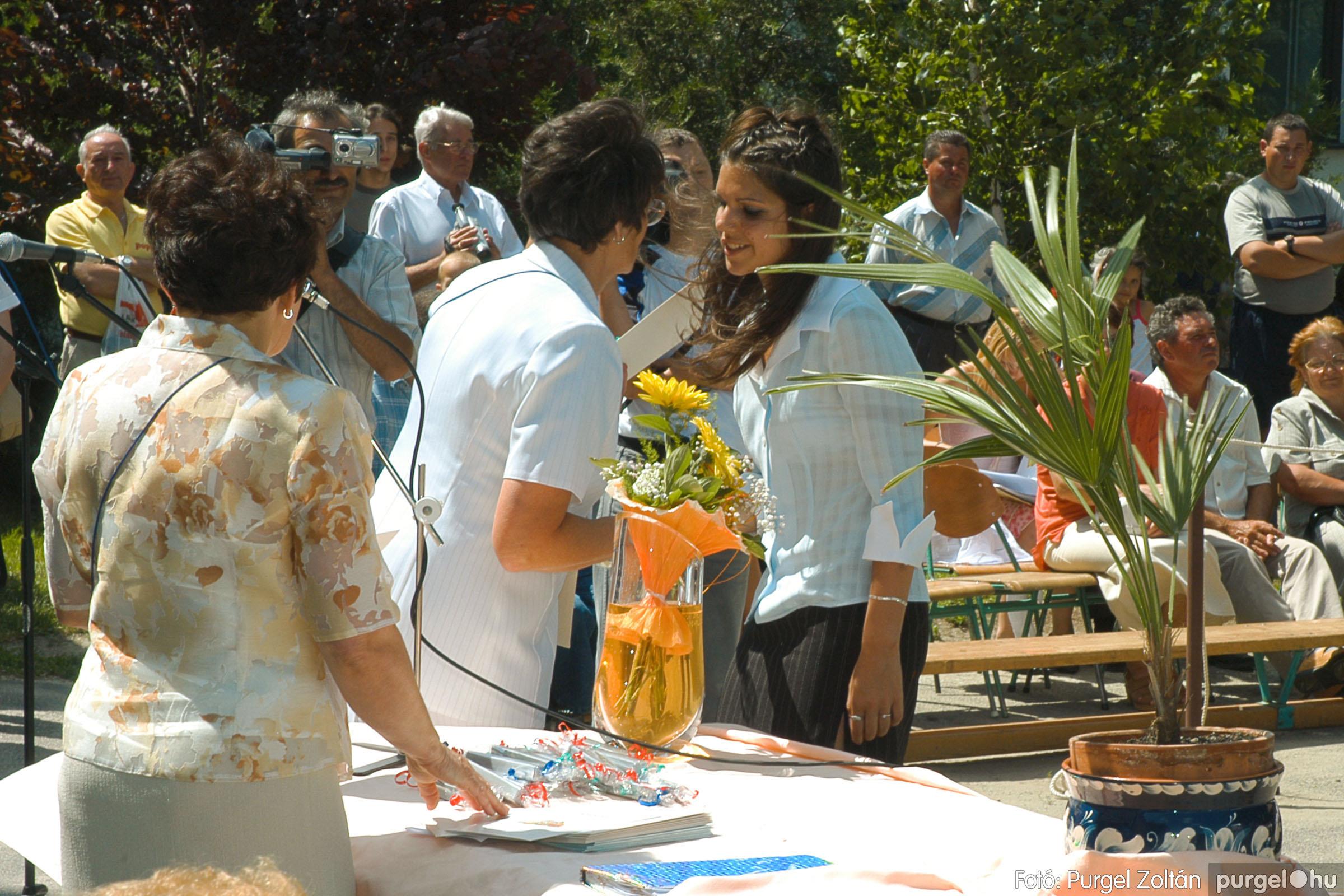 2005.06.18. 057 Forray Máté Általános Iskola ballagás 2005. - Fotó:PURGEL ZOLTÁN© DSC_0076q.jpg
