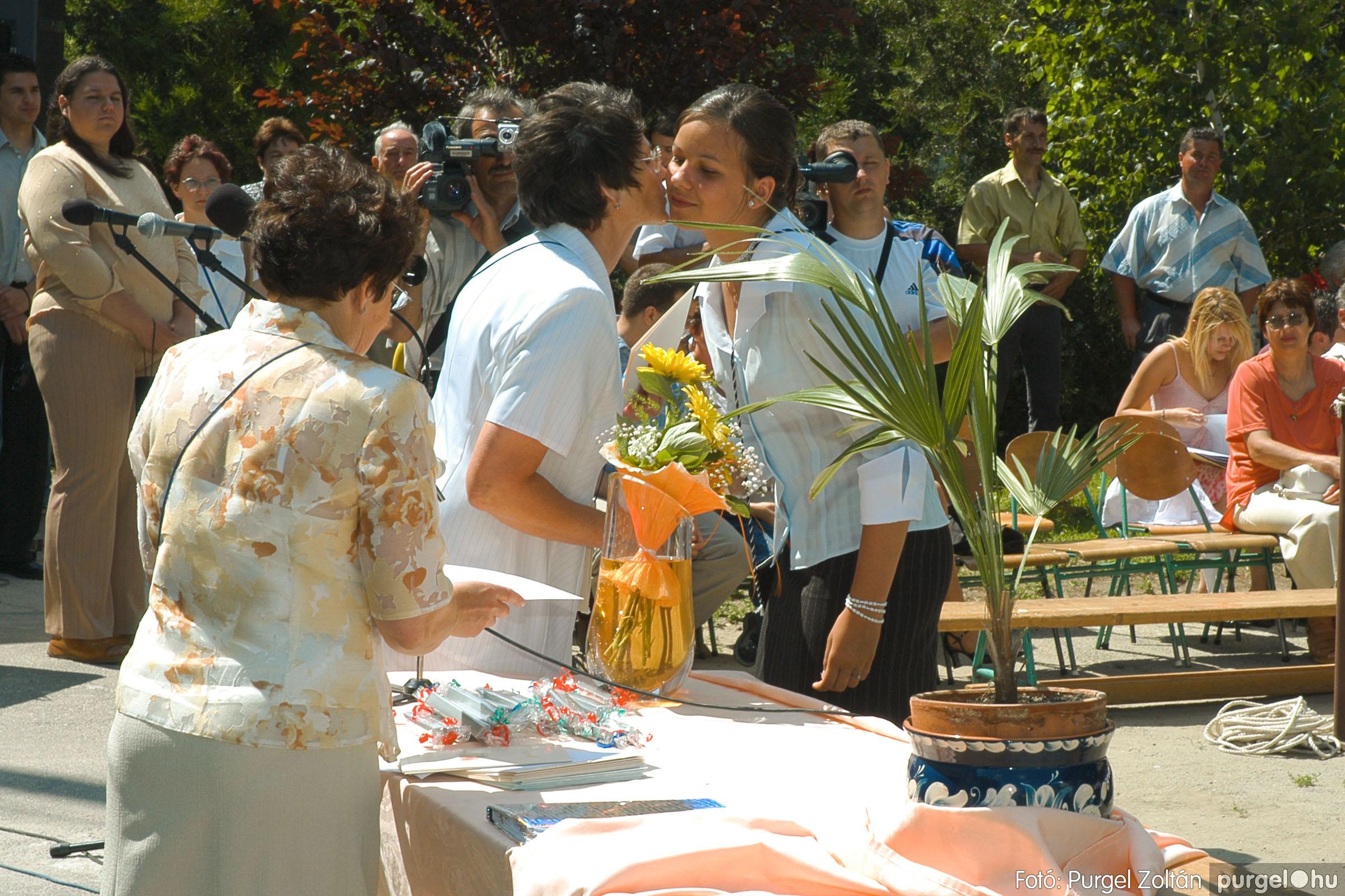 2005.06.18. 056 Forray Máté Általános Iskola ballagás 2005. - Fotó:PURGEL ZOLTÁN© DSC_0075q.jpg