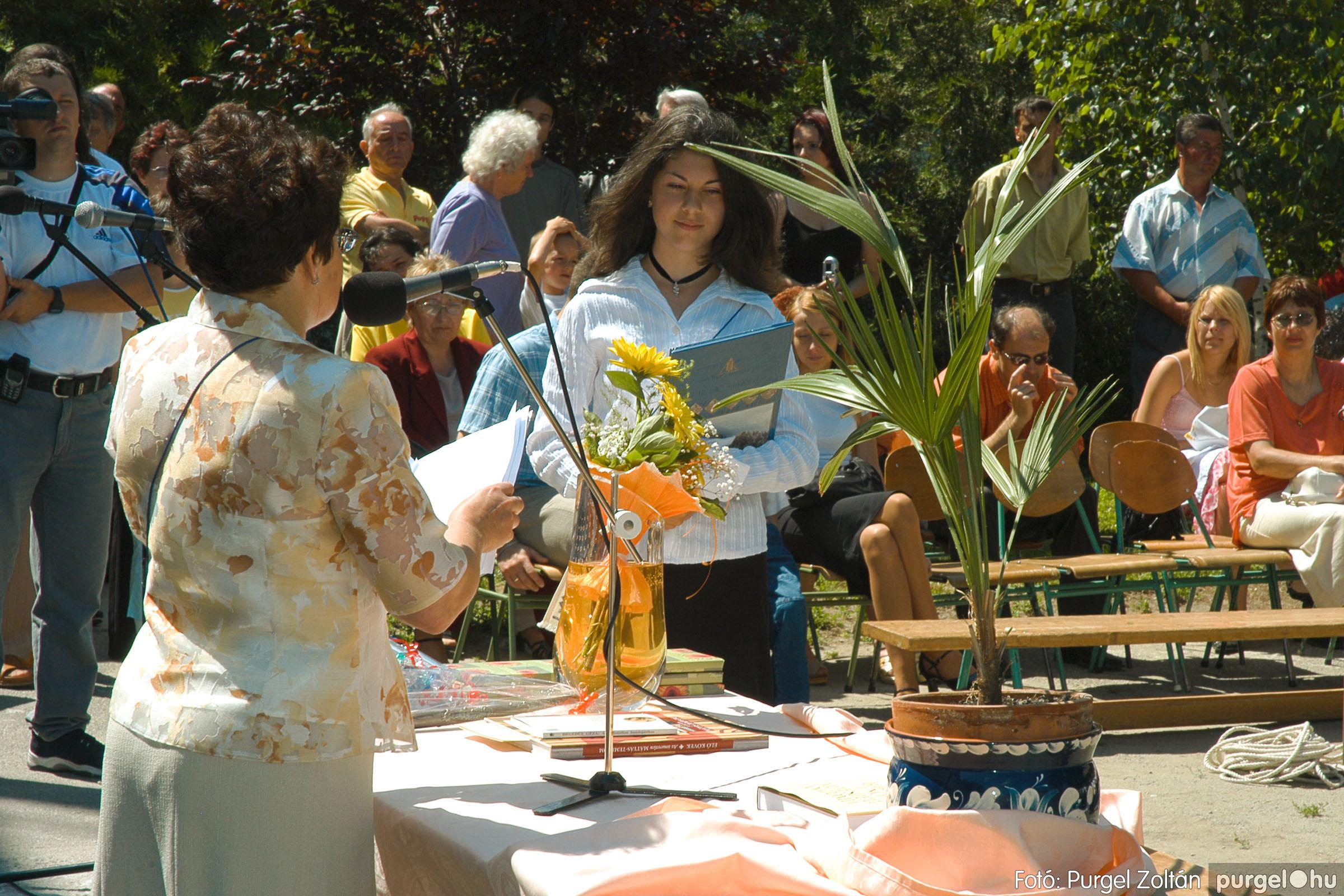 2005.06.18. 049 Forray Máté Általános Iskola ballagás 2005. - Fotó:PURGEL ZOLTÁN© DSC_0067q.jpg