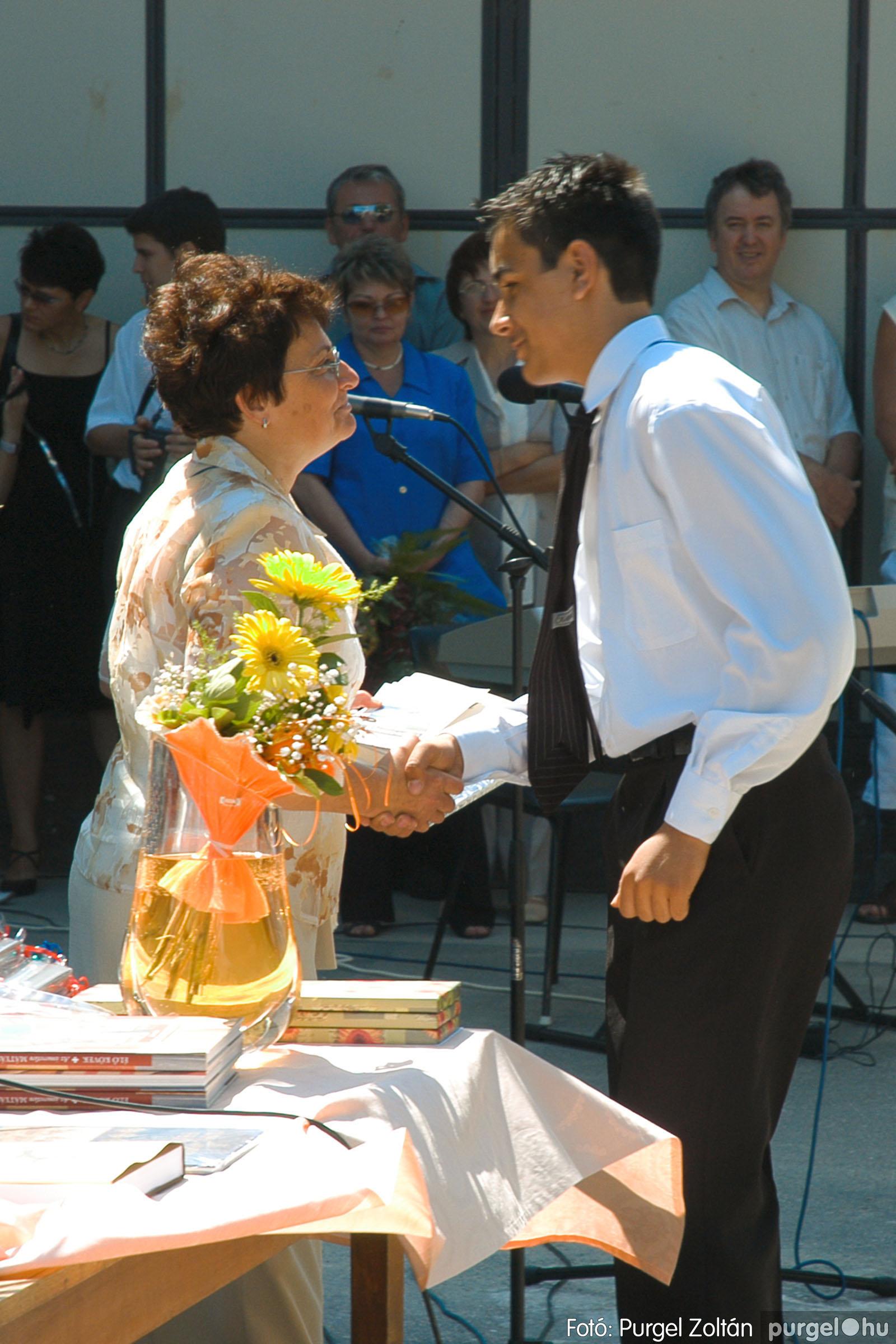 2005.06.18. 042 Forray Máté Általános Iskola ballagás 2005. - Fotó:PURGEL ZOLTÁN© DSC_0054q.jpg
