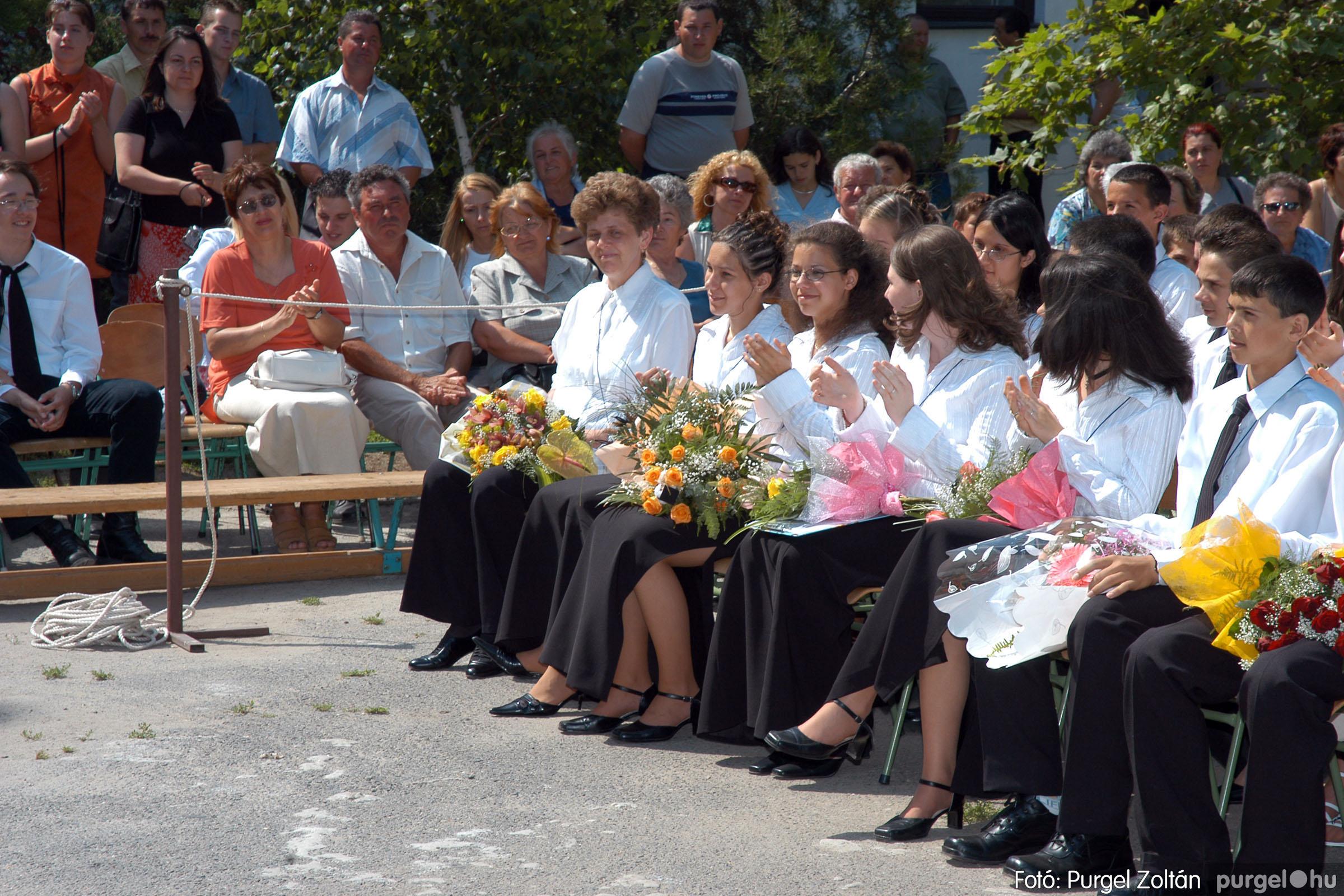 2005.06.18. 037 Forray Máté Általános Iskola ballagás 2005. - Fotó:PURGEL ZOLTÁN© DSC_0048q.jpg