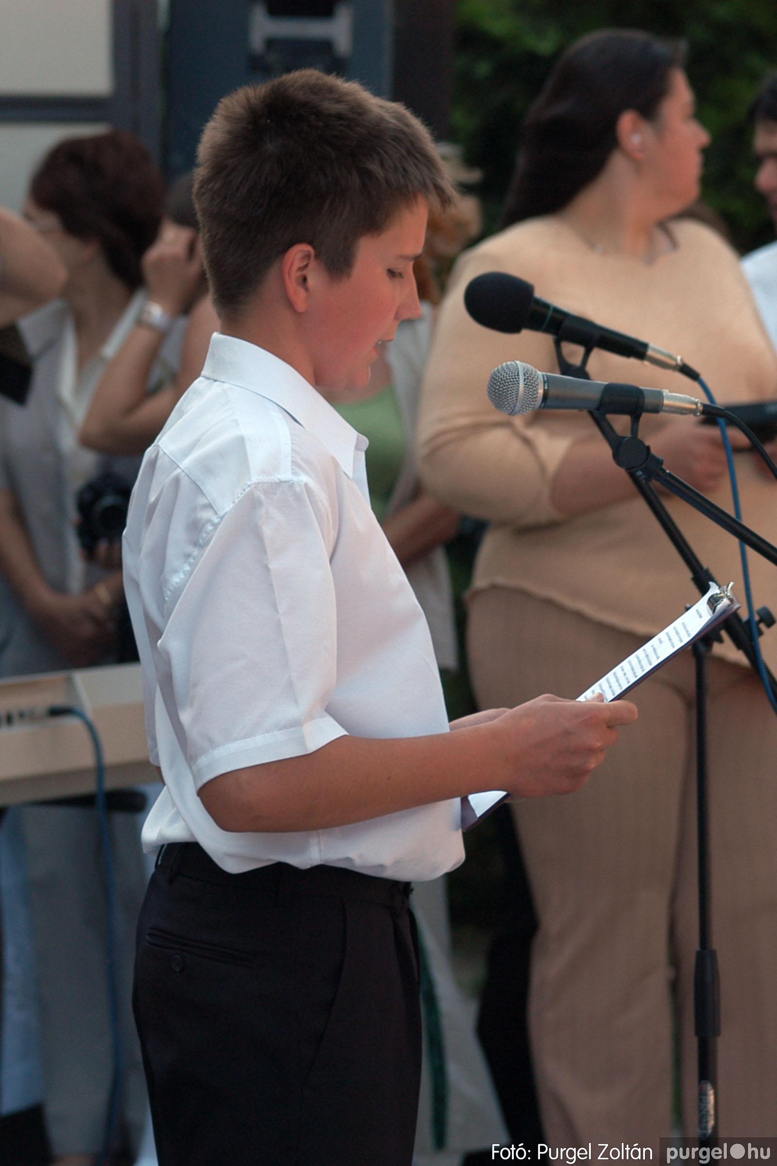 2005.06.18. 021 Forray Máté Általános Iskola ballagás 2005. - Fotó:PURGEL ZOLTÁN© DSC_0027q.jpg