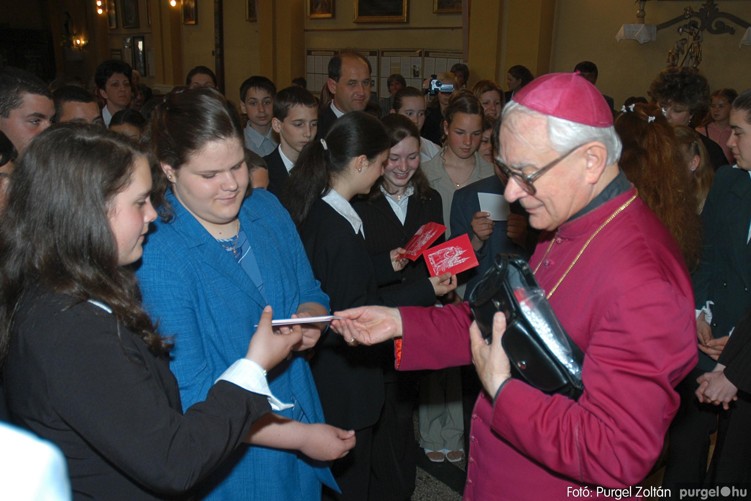 2005.05.15. 035 Kisboldogasszony templom bérmálkozás - Fotó:PURGEL ZOLTÁN© DSC_0043q.jpg