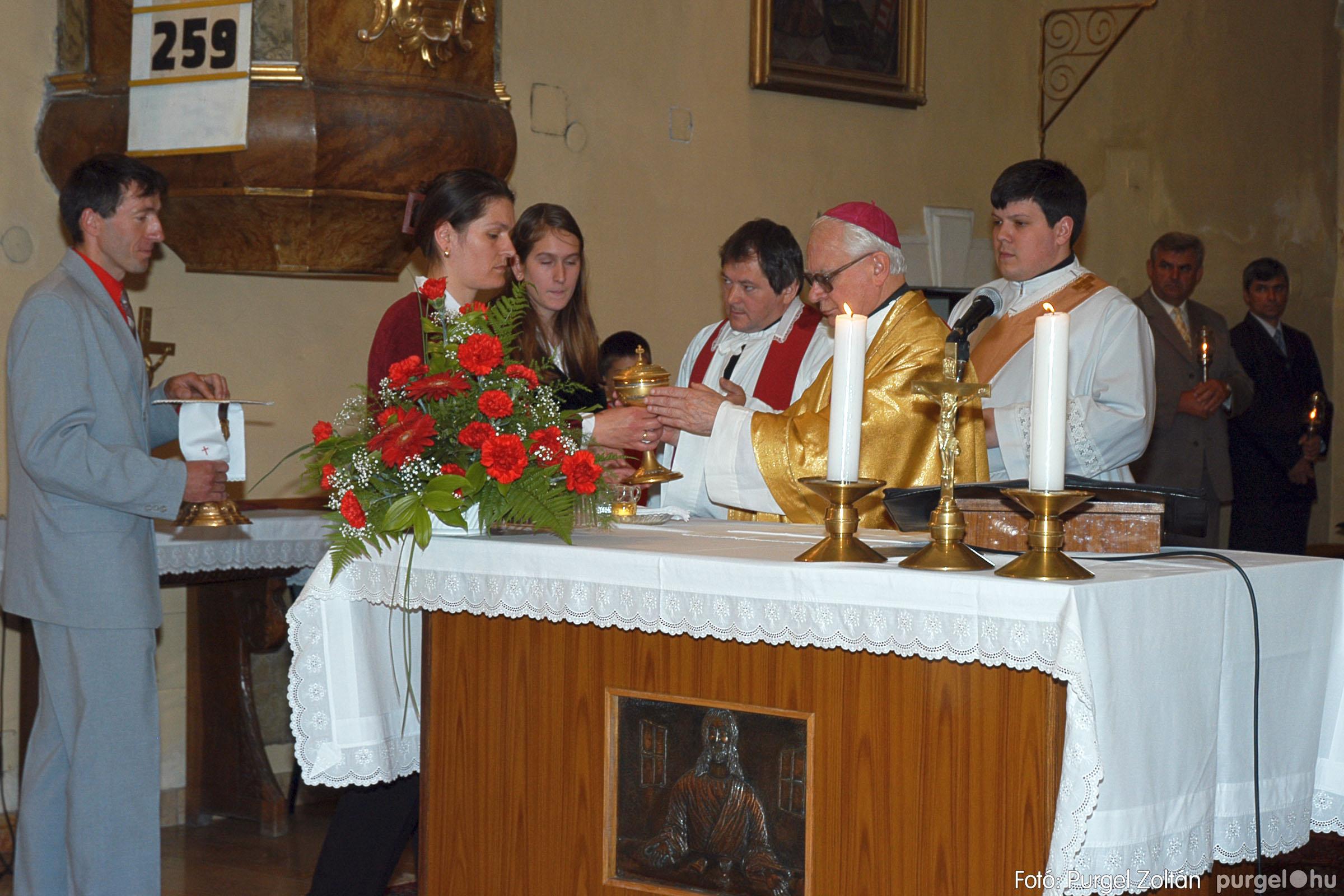 2005.05.15. 022 Kisboldogasszony templom bérmálkozás - Fotó:PURGEL ZOLTÁN© DSC_0029q.jpg
