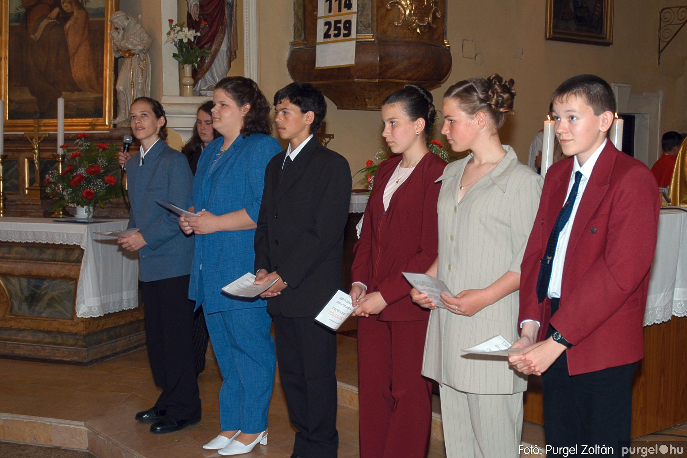 2005.05.15. 021 Kisboldogasszony templom bérmálkozás - Fotó:PURGEL ZOLTÁN© DSC_0028q.jpg