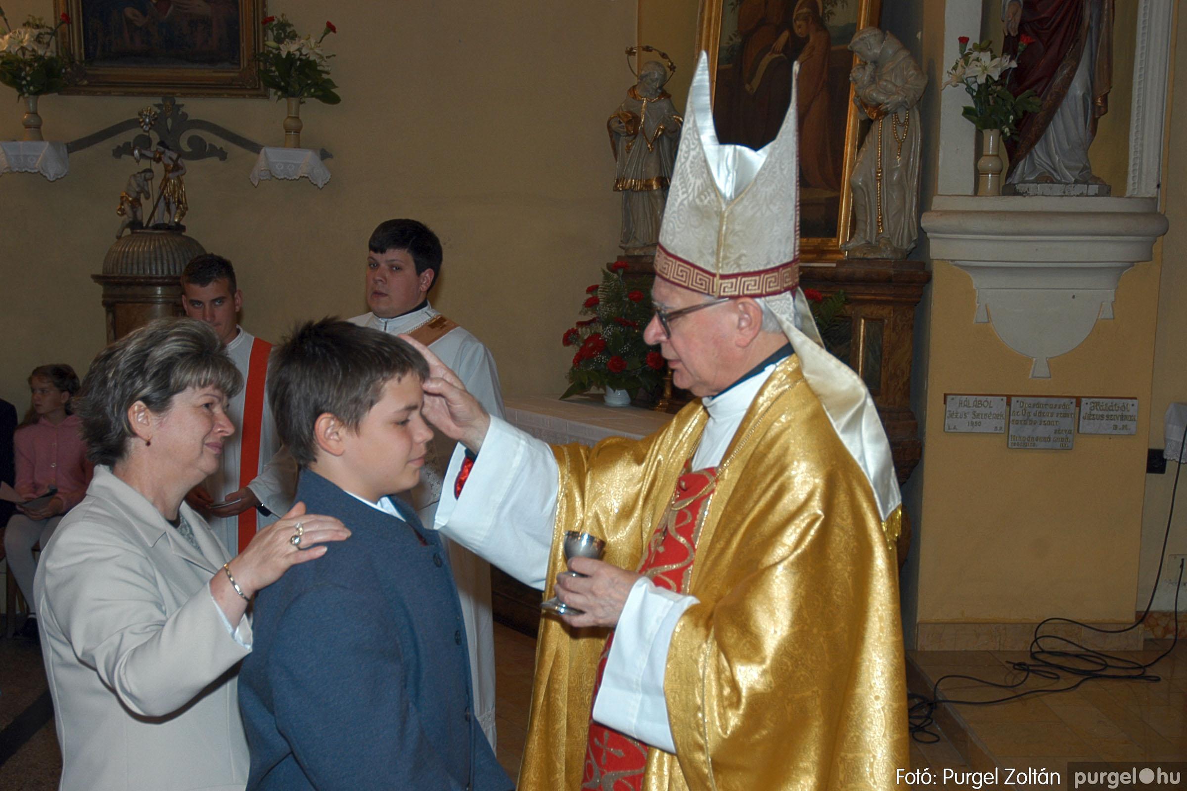 2005.05.15. 020 Kisboldogasszony templom bérmálkozás - Fotó:PURGEL ZOLTÁN© DSC_0027q.jpg