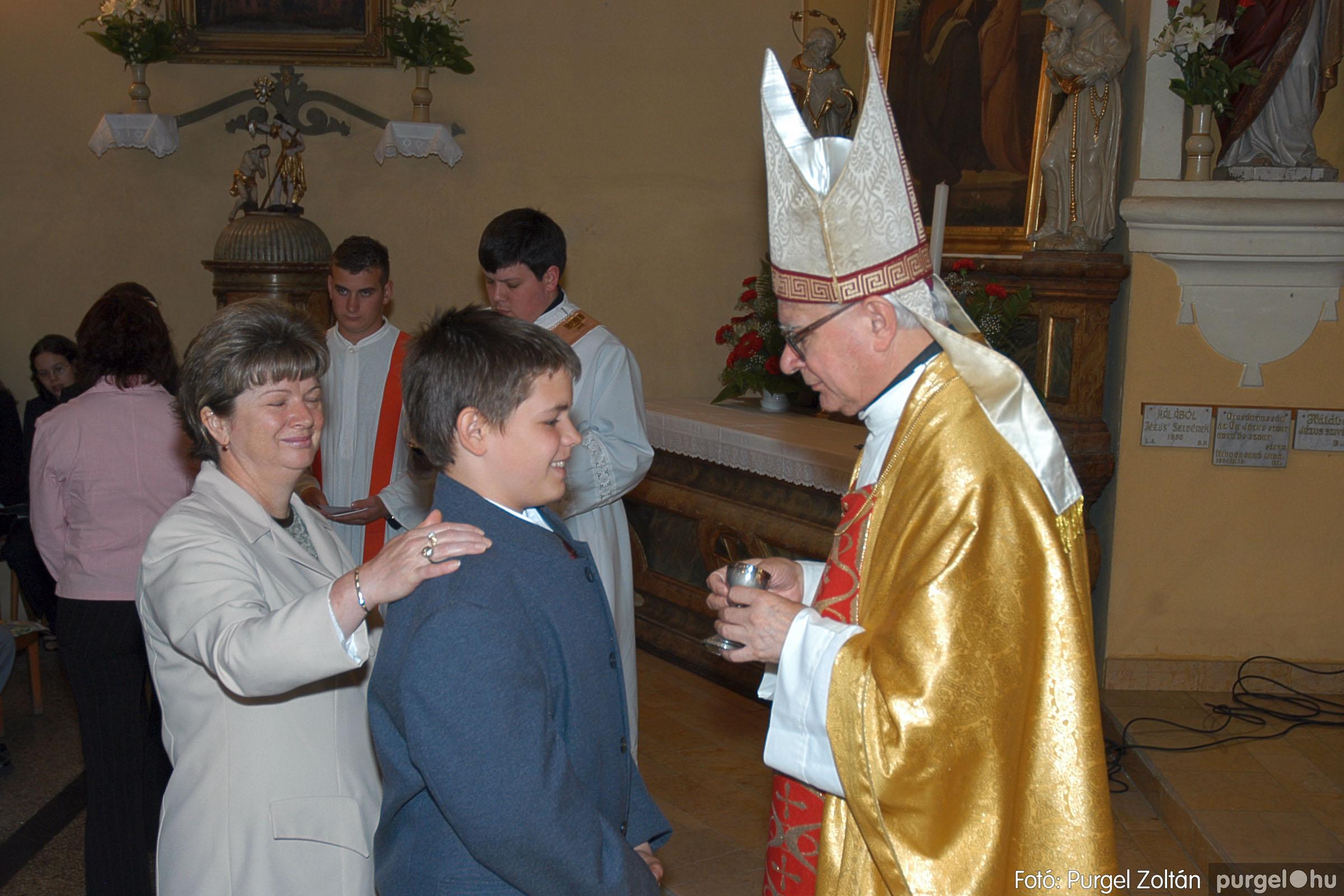 2005.05.15. 019 Kisboldogasszony templom bérmálkozás - Fotó:PURGEL ZOLTÁN© DSC_0026q.jpg