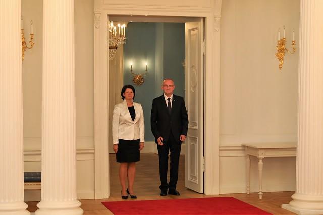 Akreditācijas vēstuļu pasniegšana Latvijas vēstniekiem ārvalstīs