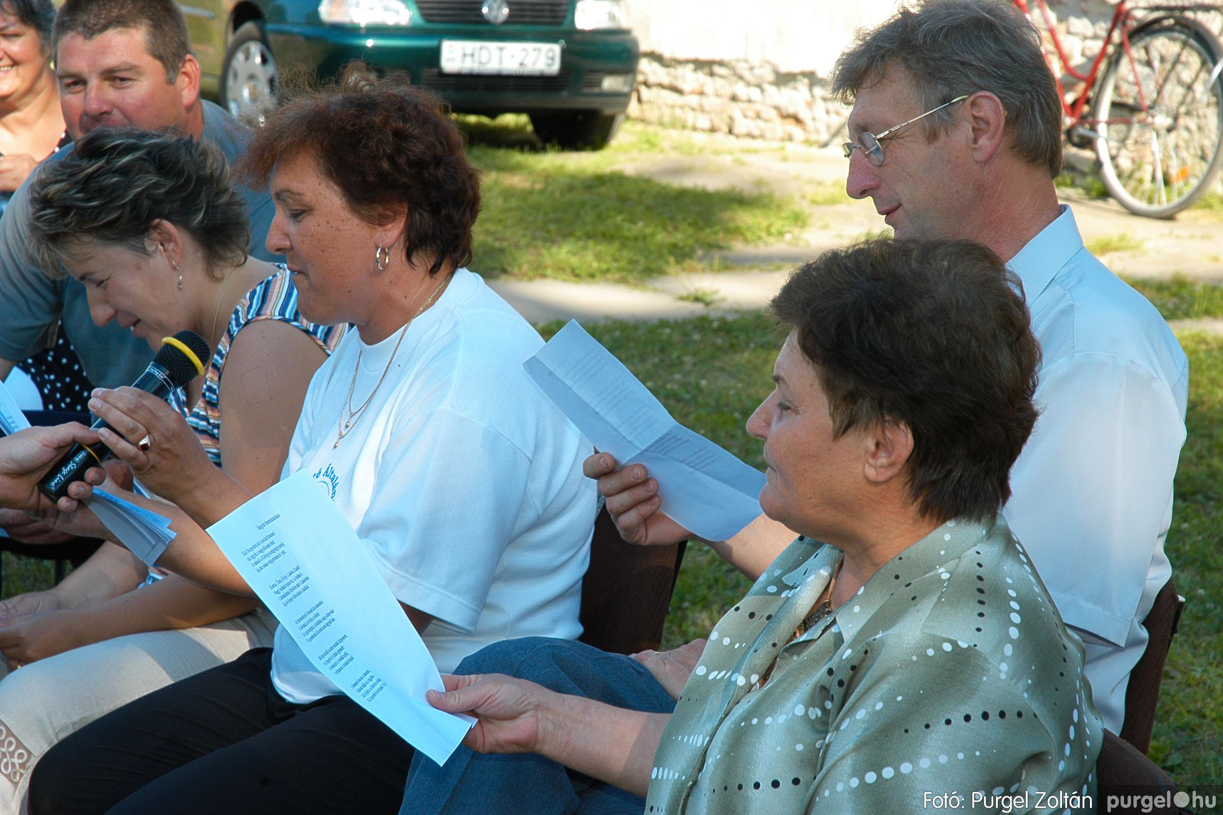 2005.06.25. 054 Szegváriak Szegvárért Közösségfejlesztők Egyesület közösségi nap - Fotó:PURGEL ZOLTÁN©.jpg
