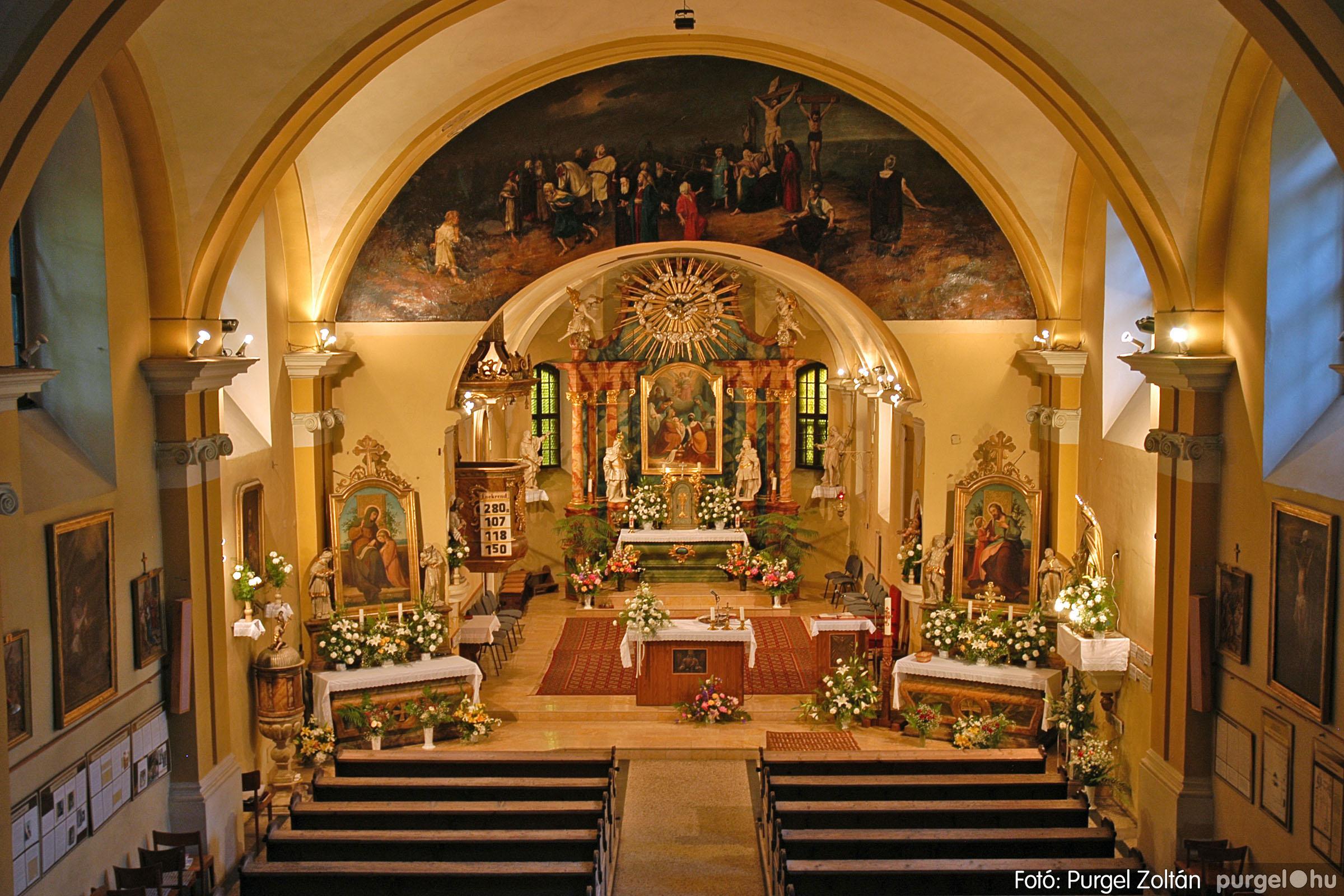 2005.05.30. 021 Kilátás a szegvári templom tornyából - Fotó:PURGEL ZOLTÁN© DSC_0330q.jpg