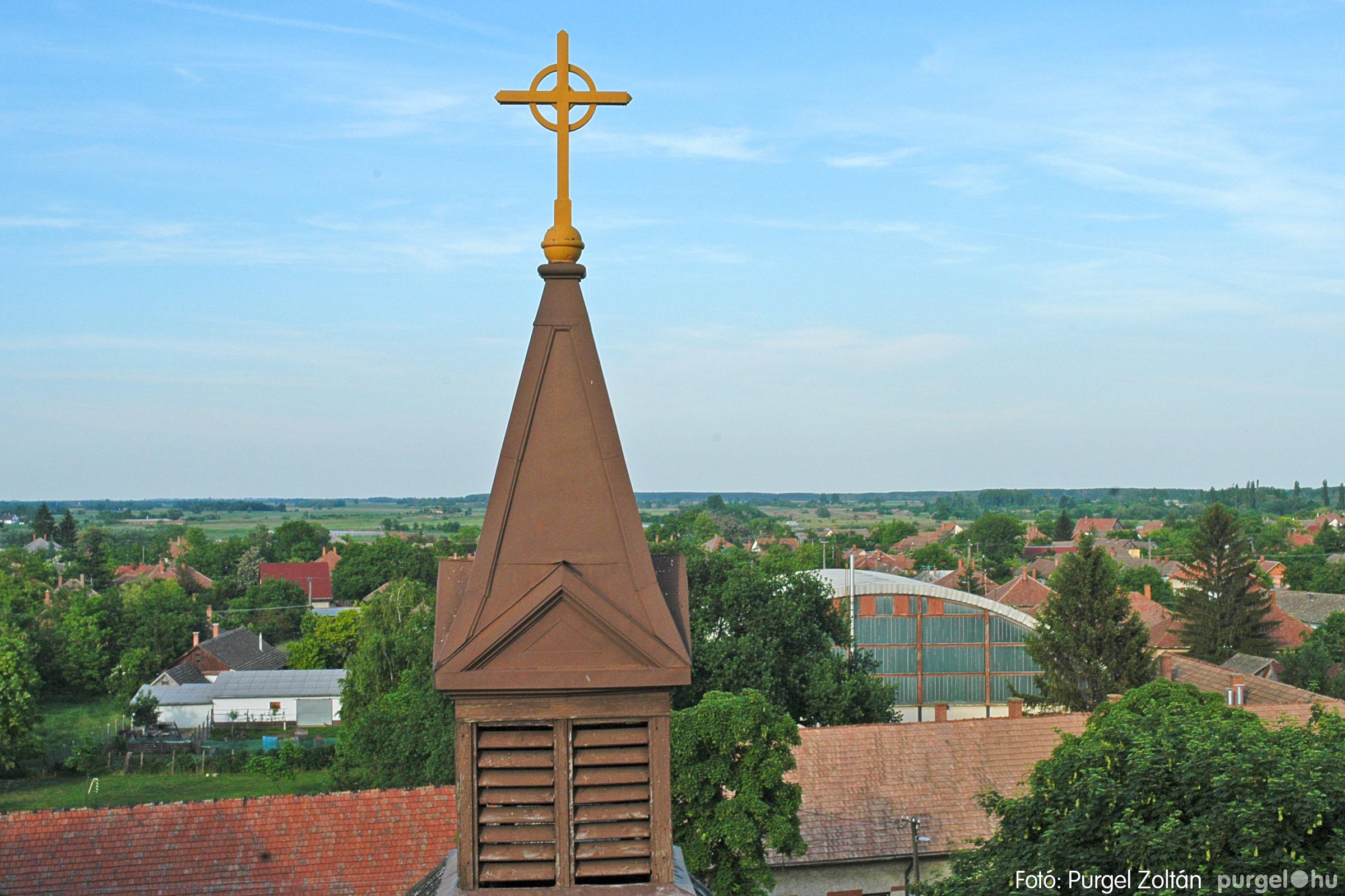 2005.05.30. 010 Kilátás a szegvári templom tornyából - Fotó:PURGEL ZOLTÁN© DSC_0316q.jpg