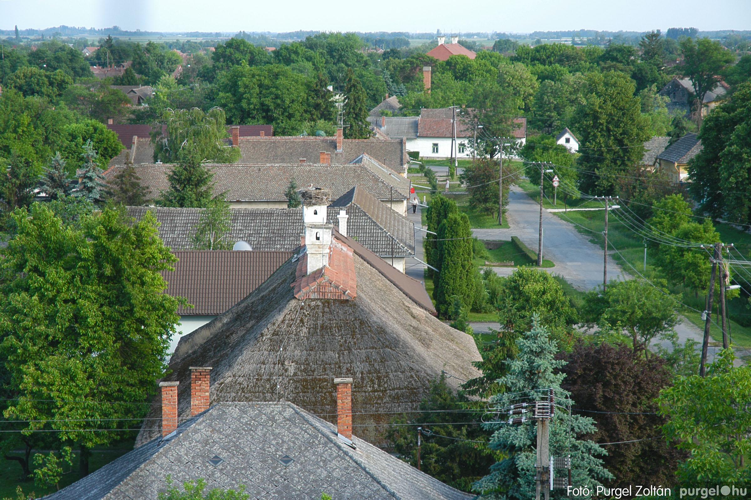 2005.05.30. 001 Kilátás a szegvári templom tornyából - Fotó:PURGEL ZOLTÁN© DSC_0305q.jpg