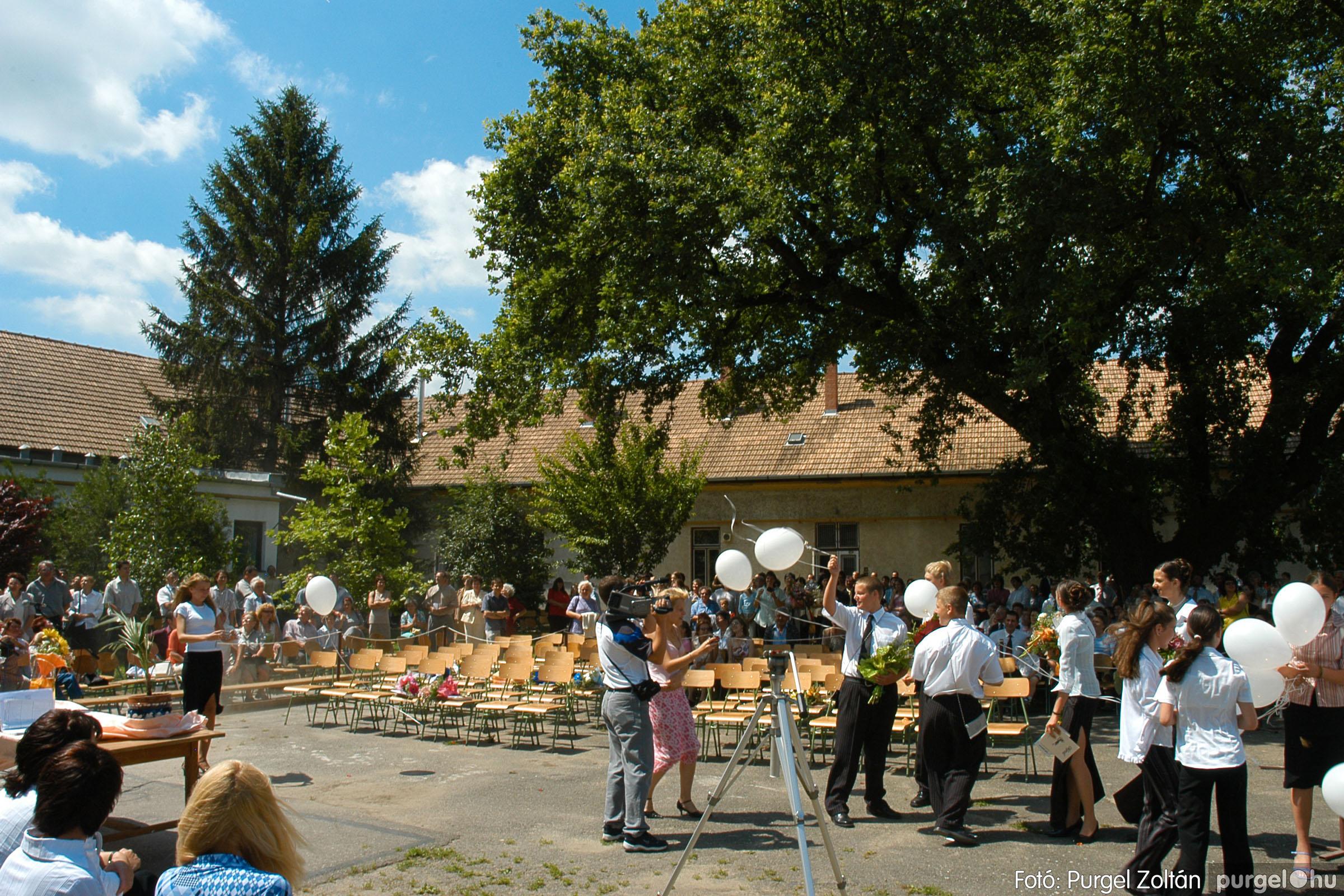 2005.06.18. 083 Forray Máté Általános Iskola ballagás 2005. - Fotó:PURGEL ZOLTÁN© DSC_0112q.jpg