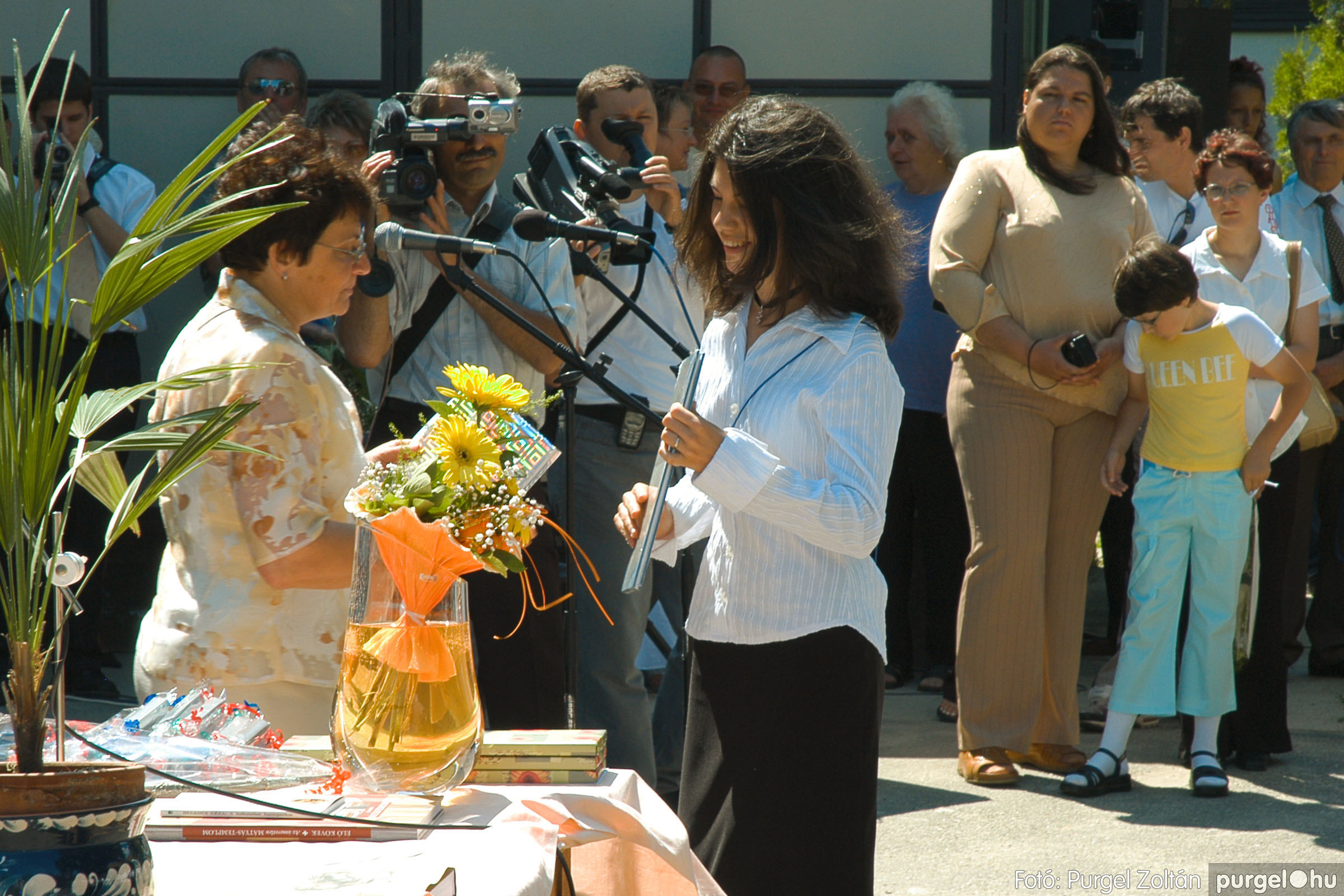 2005.06.18. 048 Forray Máté Általános Iskola ballagás 2005. - Fotó:PURGEL ZOLTÁN© DSC_0066q.jpg