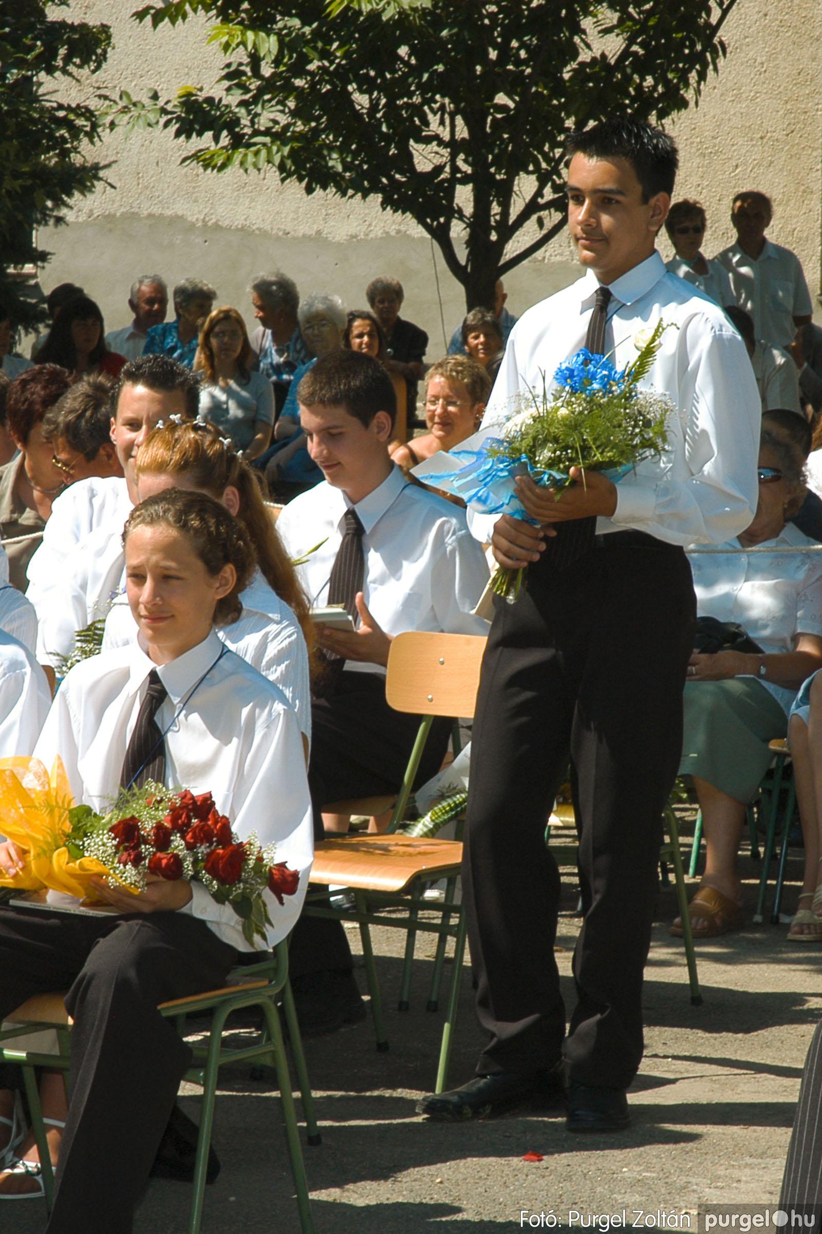 2005.06.18. 040 Forray Máté Általános Iskola ballagás 2005. - Fotó:PURGEL ZOLTÁN© DSC_0052q.jpg