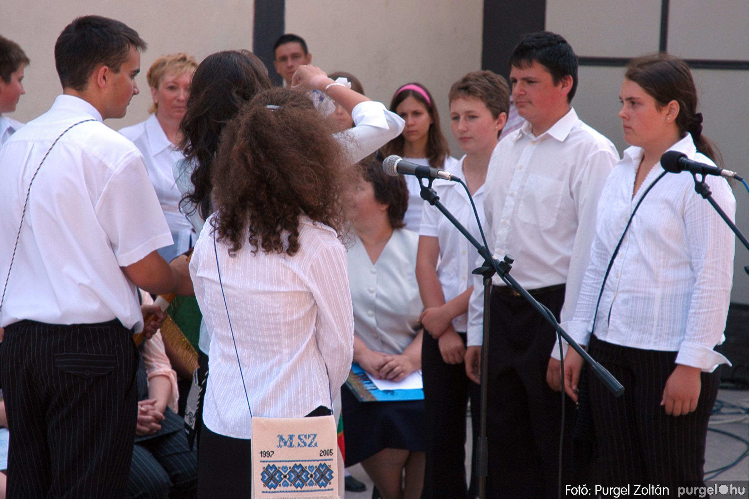 2005.06.18. 032 Forray Máté Általános Iskola ballagás 2005. - Fotó:PURGEL ZOLTÁN© DSC_0041q.jpg