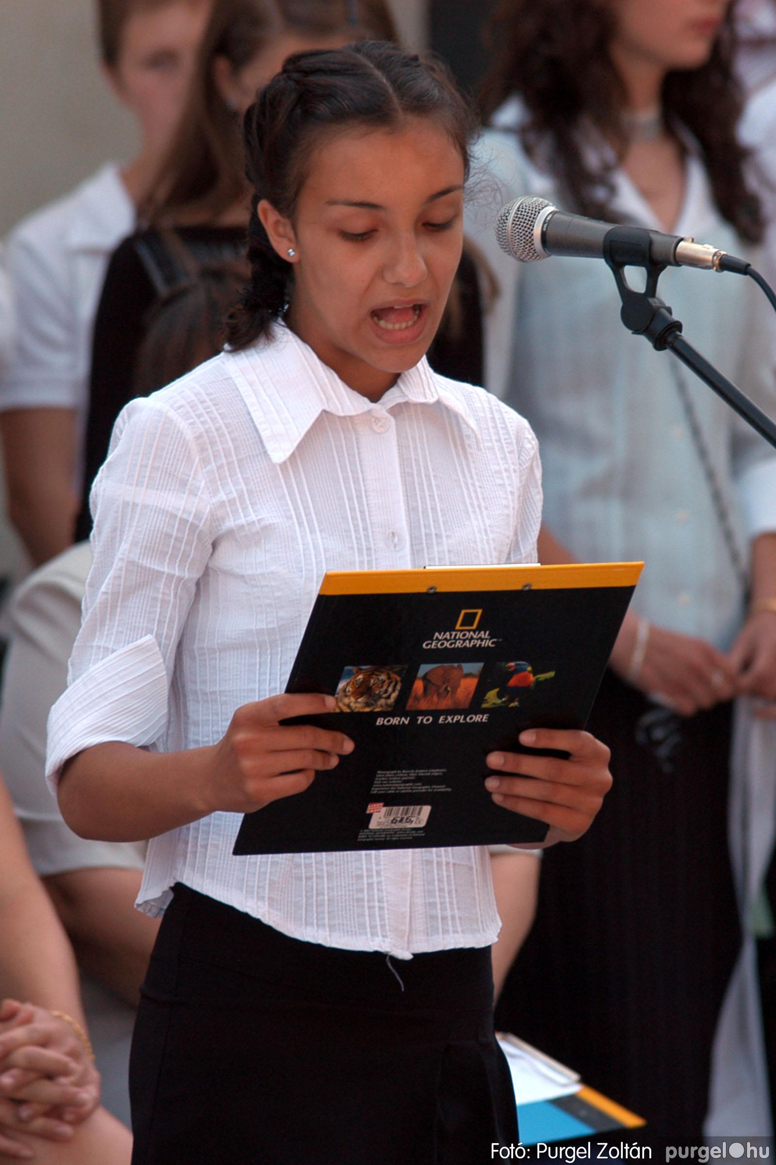2005.06.18. 020 Forray Máté Általános Iskola ballagás 2005. - Fotó:PURGEL ZOLTÁN© DSC_0025q.jpg