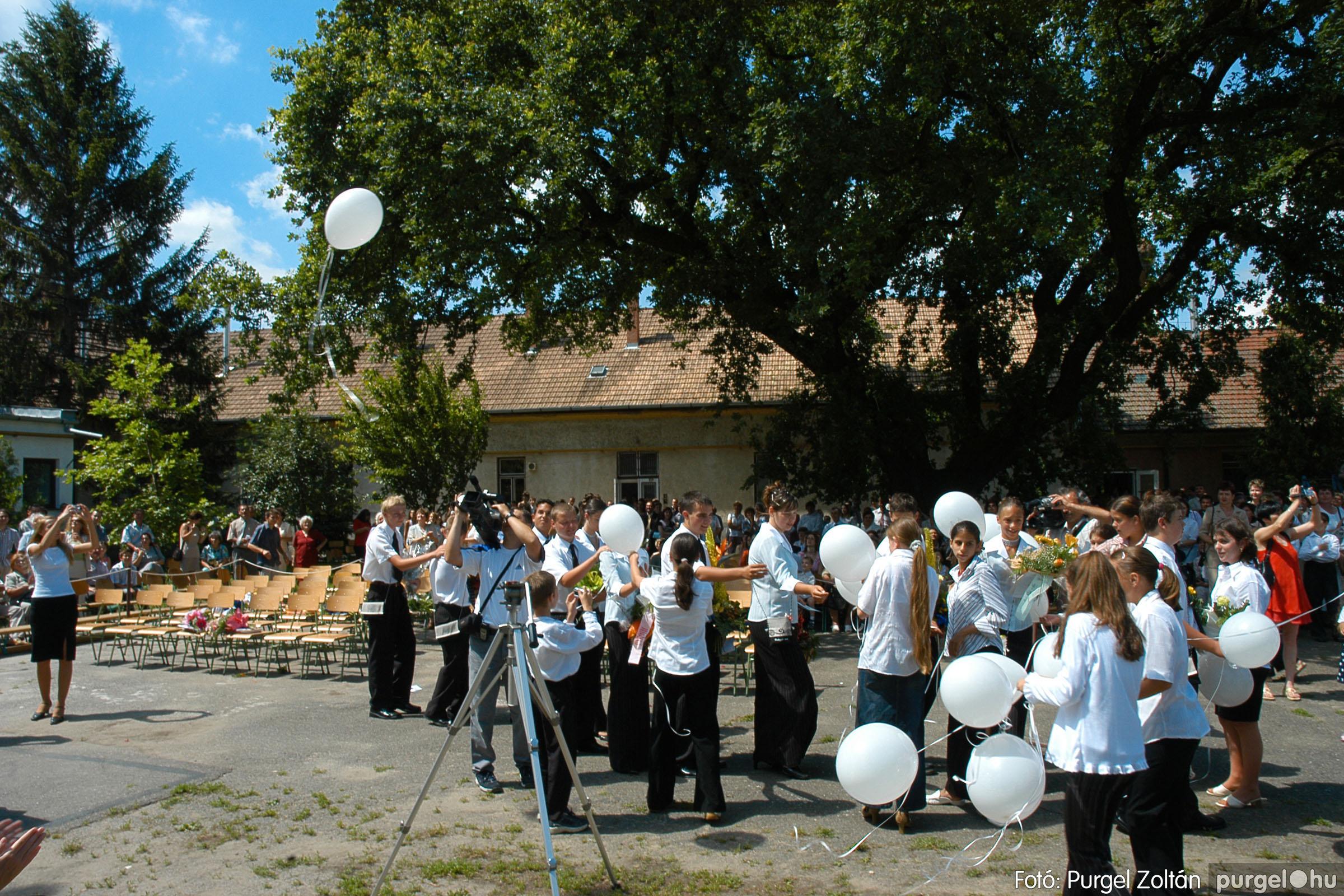 2005.06.18. 079 Forray Máté Általános Iskola ballagás 2005. - Fotó:PURGEL ZOLTÁN© DSC_0103q.jpg