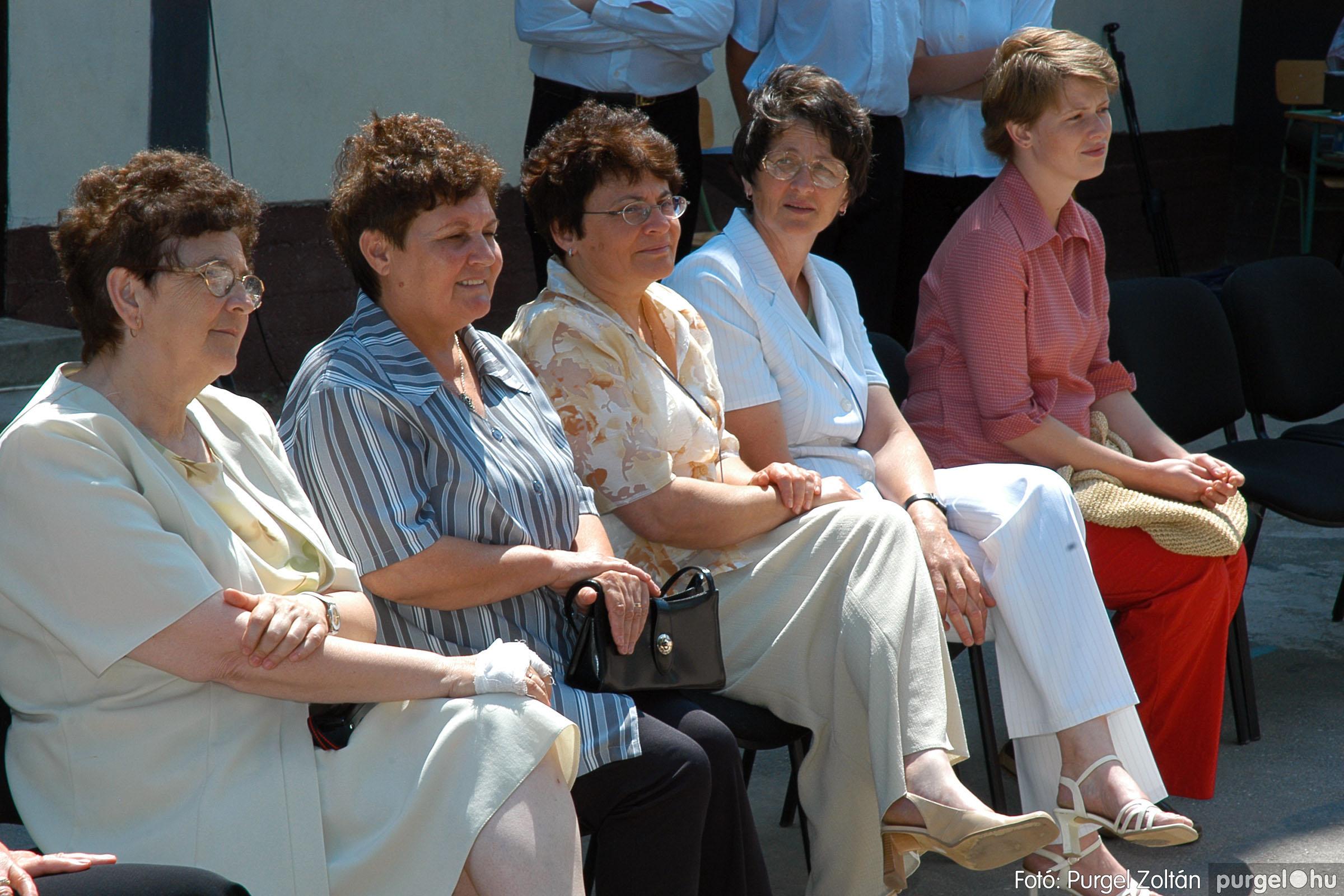 2005.06.18. 069 Forray Máté Általános Iskola ballagás 2005. - Fotó:PURGEL ZOLTÁN© DSC_0091q.jpg