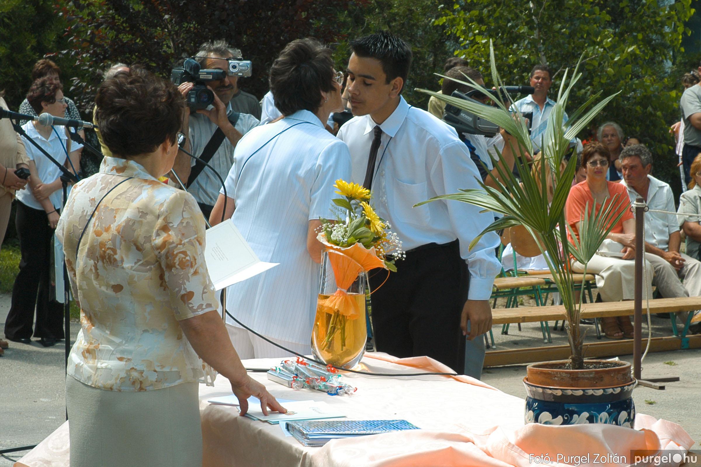 2005.06.18. 059 Forray Máté Általános Iskola ballagás 2005. - Fotó:PURGEL ZOLTÁN© DSC_0078q.jpg