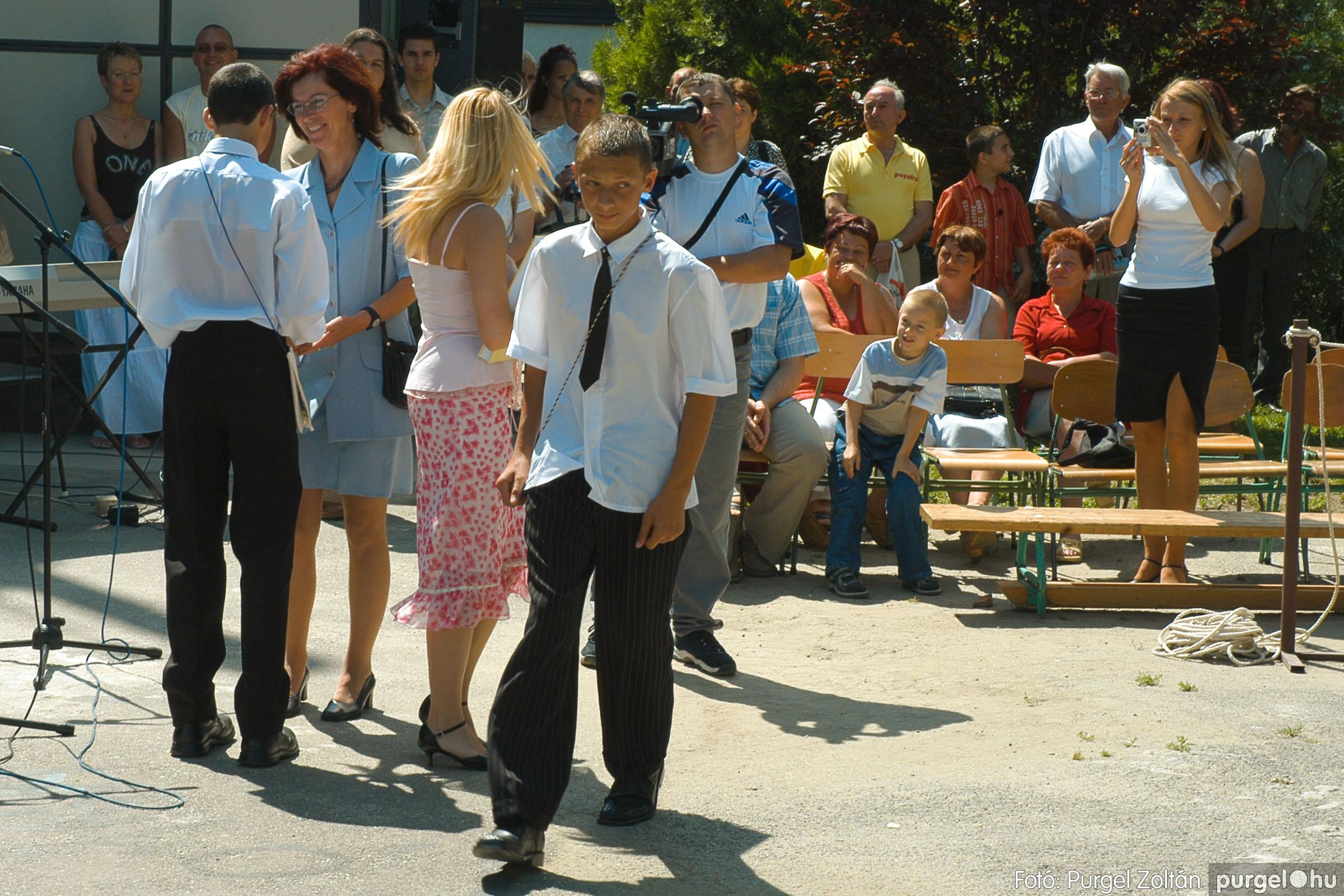 2005.06.18. 055 Forray Máté Általános Iskola ballagás 2005. - Fotó:PURGEL ZOLTÁN© DSC_0074q.jpg