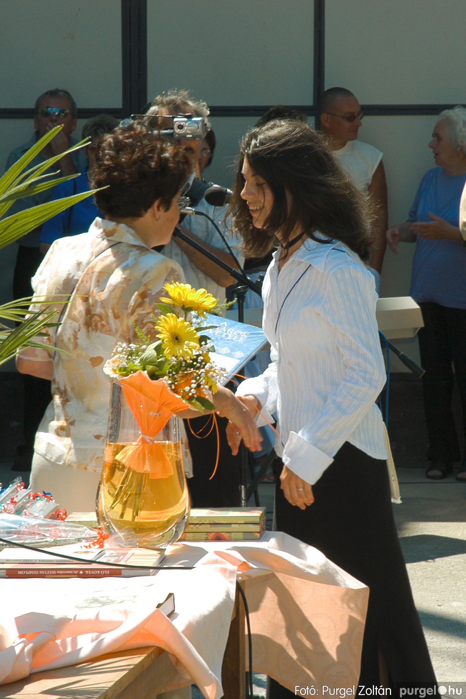 2005.06.18. 047 Forray Máté Általános Iskola ballagás 2005. - Fotó:PURGEL ZOLTÁN© DSC_0064q.jpg