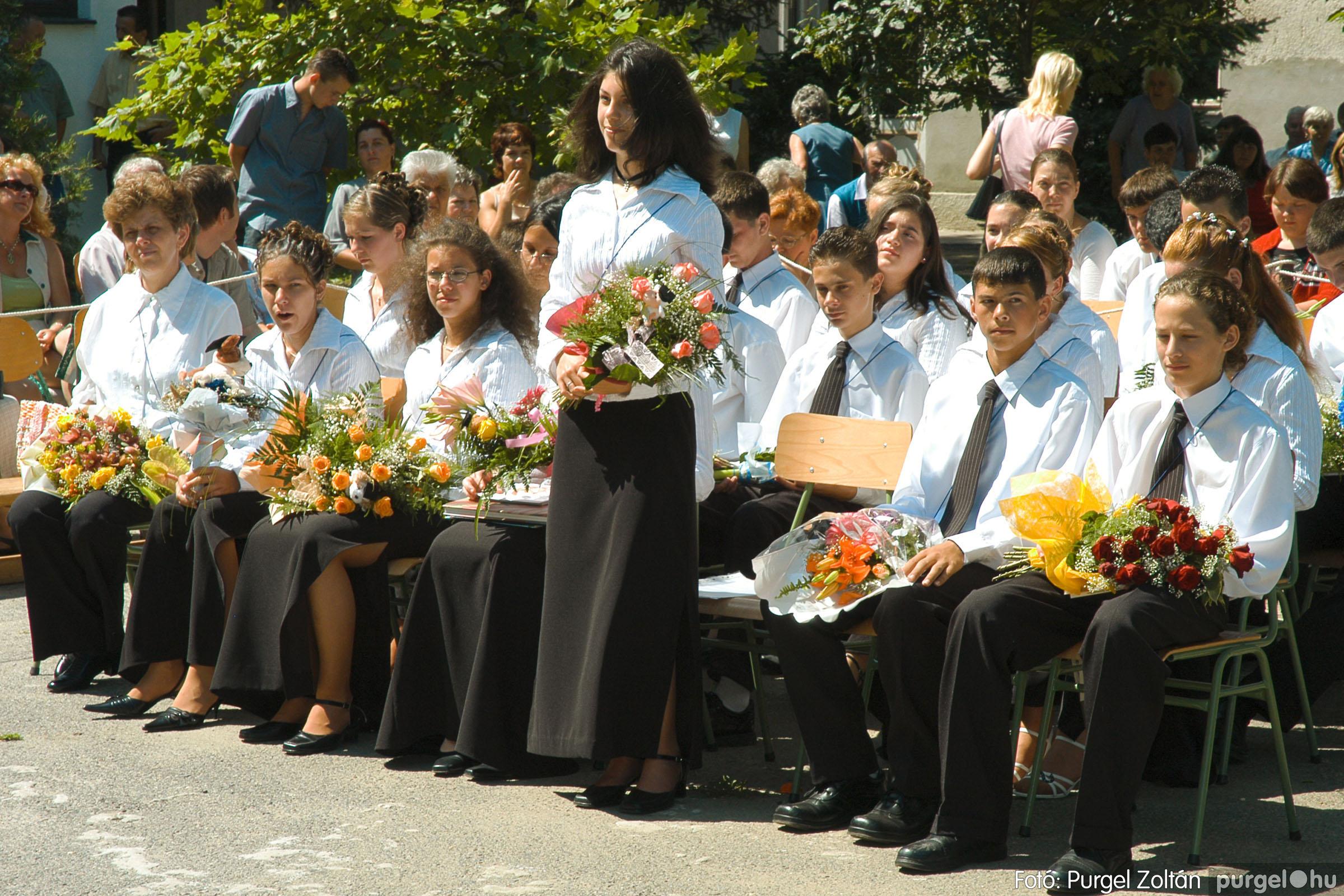 2005.06.18. 046 Forray Máté Általános Iskola ballagás 2005. - Fotó:PURGEL ZOLTÁN© DSC_0063q.jpg