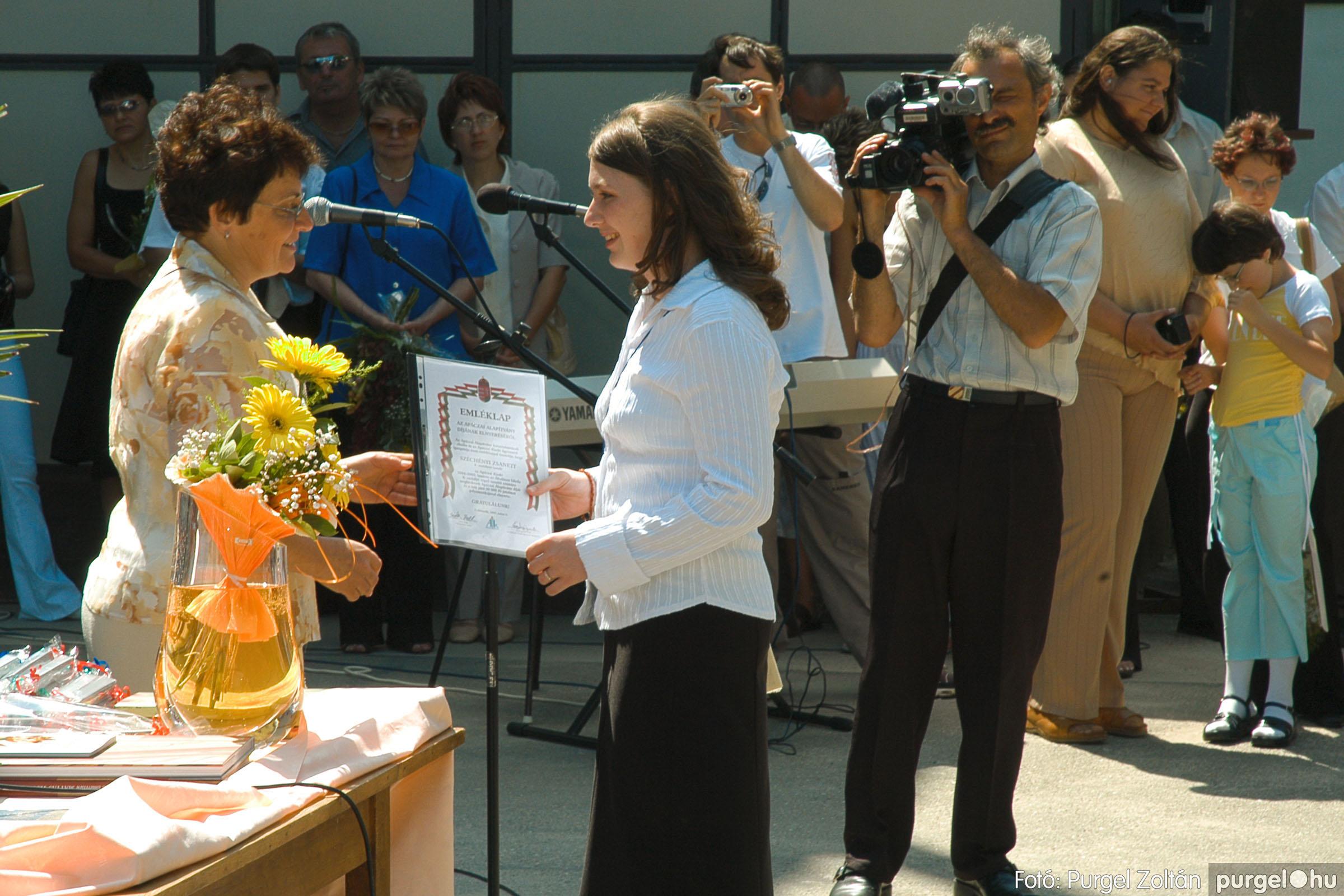 2005.06.18. 044 Forray Máté Általános Iskola ballagás 2005. - Fotó:PURGEL ZOLTÁN© DSC_0059q.jpg