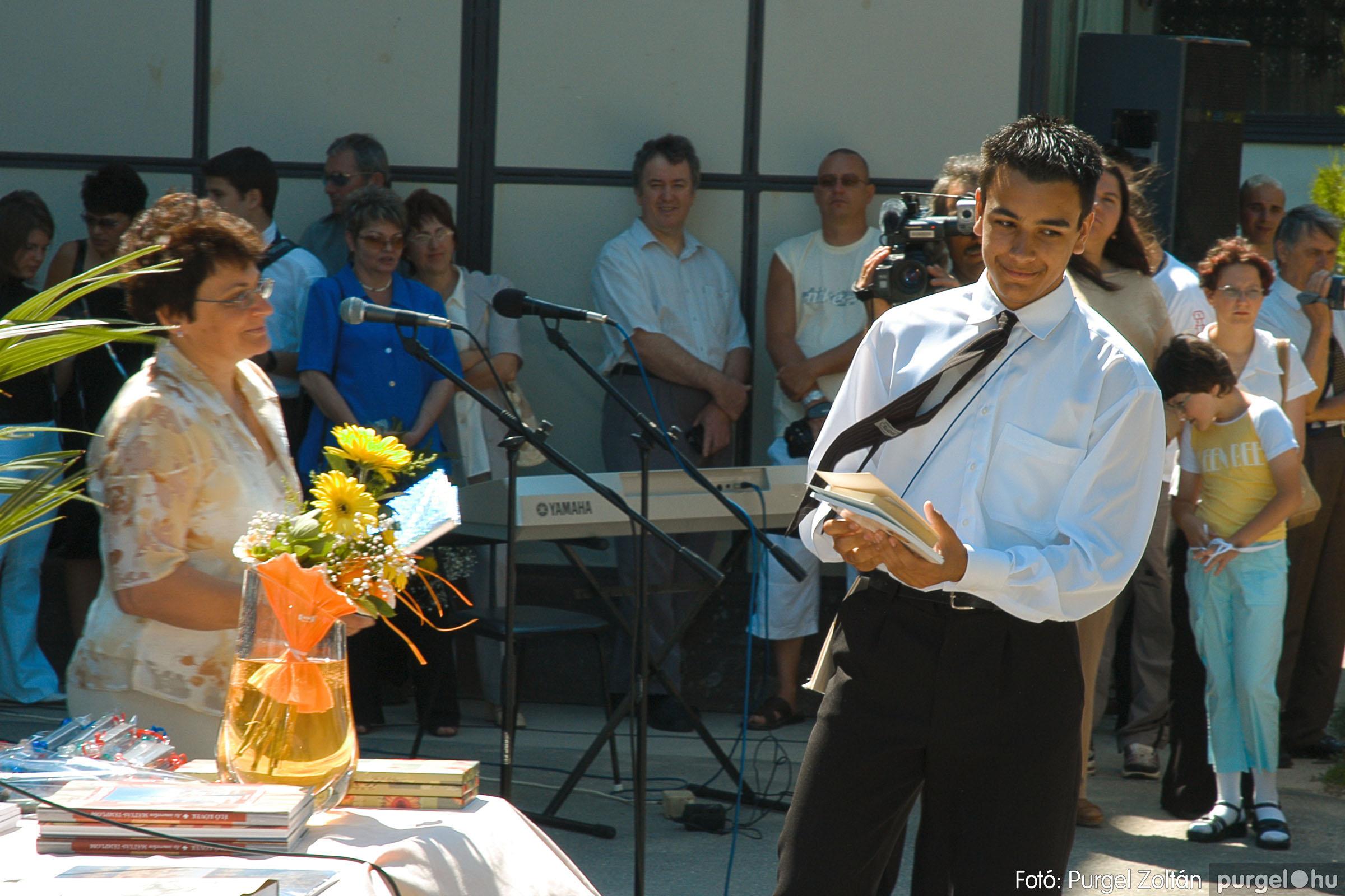 2005.06.18. 043 Forray Máté Általános Iskola ballagás 2005. - Fotó:PURGEL ZOLTÁN© DSC_0056q.jpg