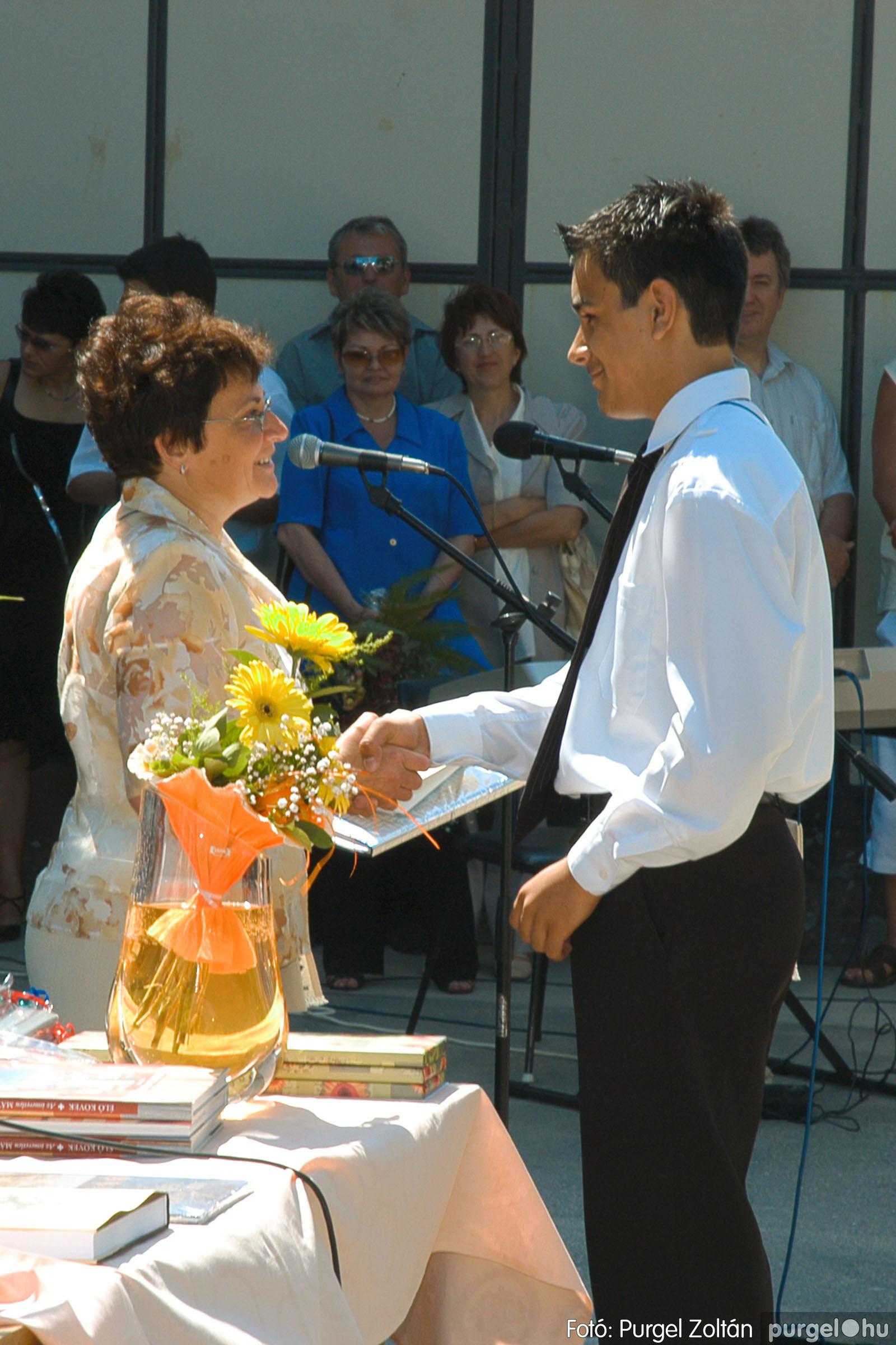 2005.06.18. 041 Forray Máté Általános Iskola ballagás 2005. - Fotó:PURGEL ZOLTÁN© DSC_0053q.jpg