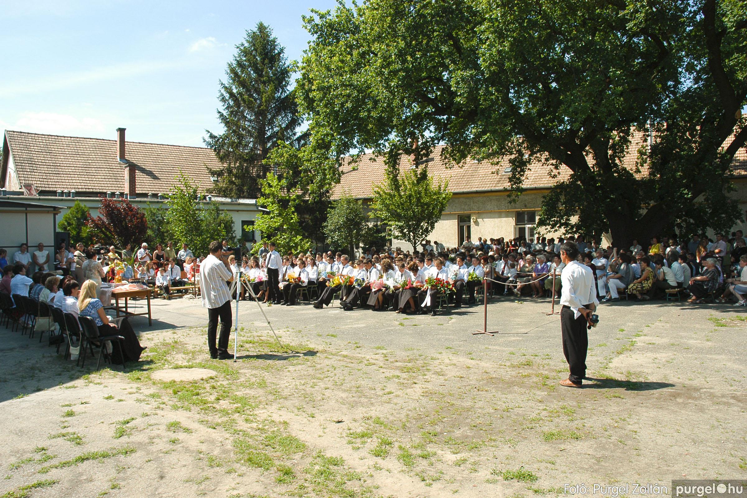 2005.06.18. 038 Forray Máté Általános Iskola ballagás 2005. - Fotó:PURGEL ZOLTÁN© DSC_0049q.jpg