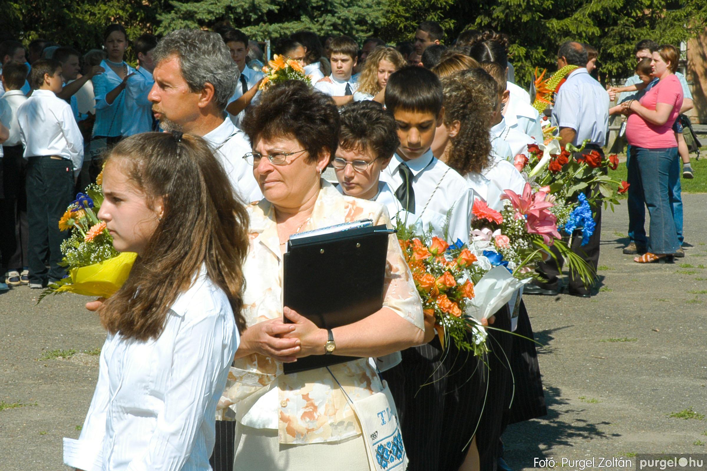 2005.06.18. 013 Forray Máté Általános Iskola ballagás 2005. - Fotó:PURGEL ZOLTÁN© DSC_0015q.jpg