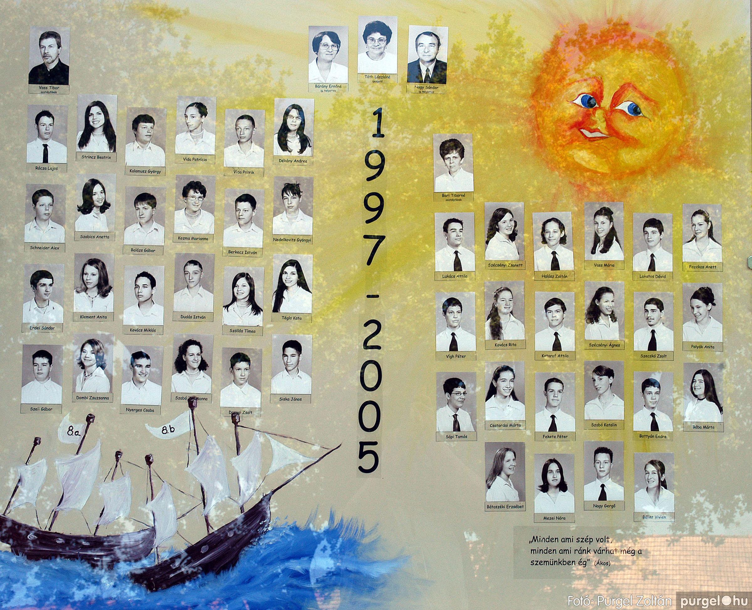 2005.06.18. 000 Forray Máté Általános Iskola tabló 2005. - Fotó:PURGEL ZOLTÁN©.jpg
