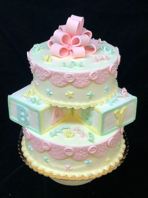 Baby Shower Cake by Christie's Artisan Bread & Pastry Shop