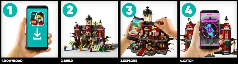 LEGO Hidden Side Steps