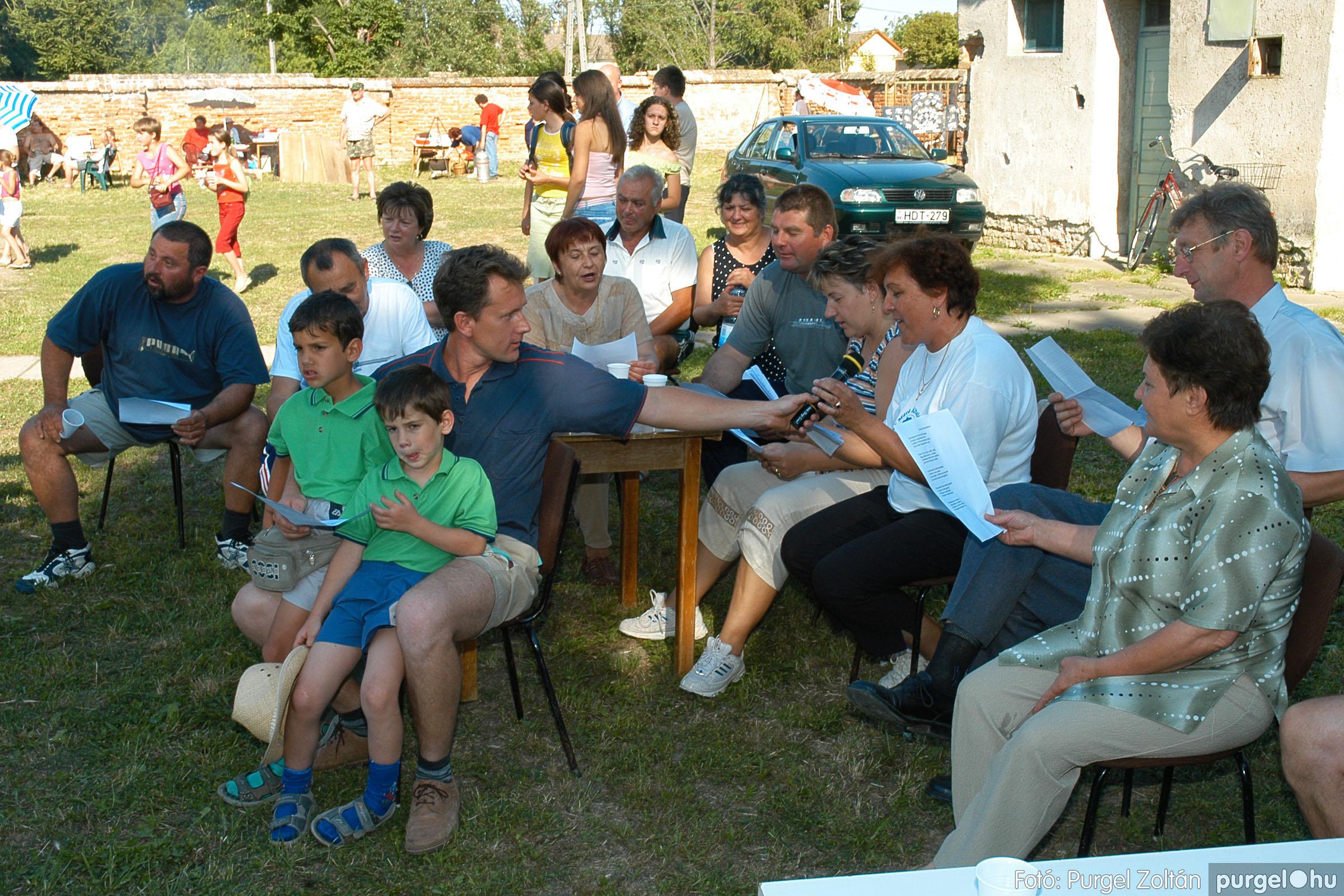 2005.06.25. 053 Szegváriak Szegvárért Közösségfejlesztők Egyesület közösségi nap - Fotó:PURGEL ZOLTÁN©.jpg