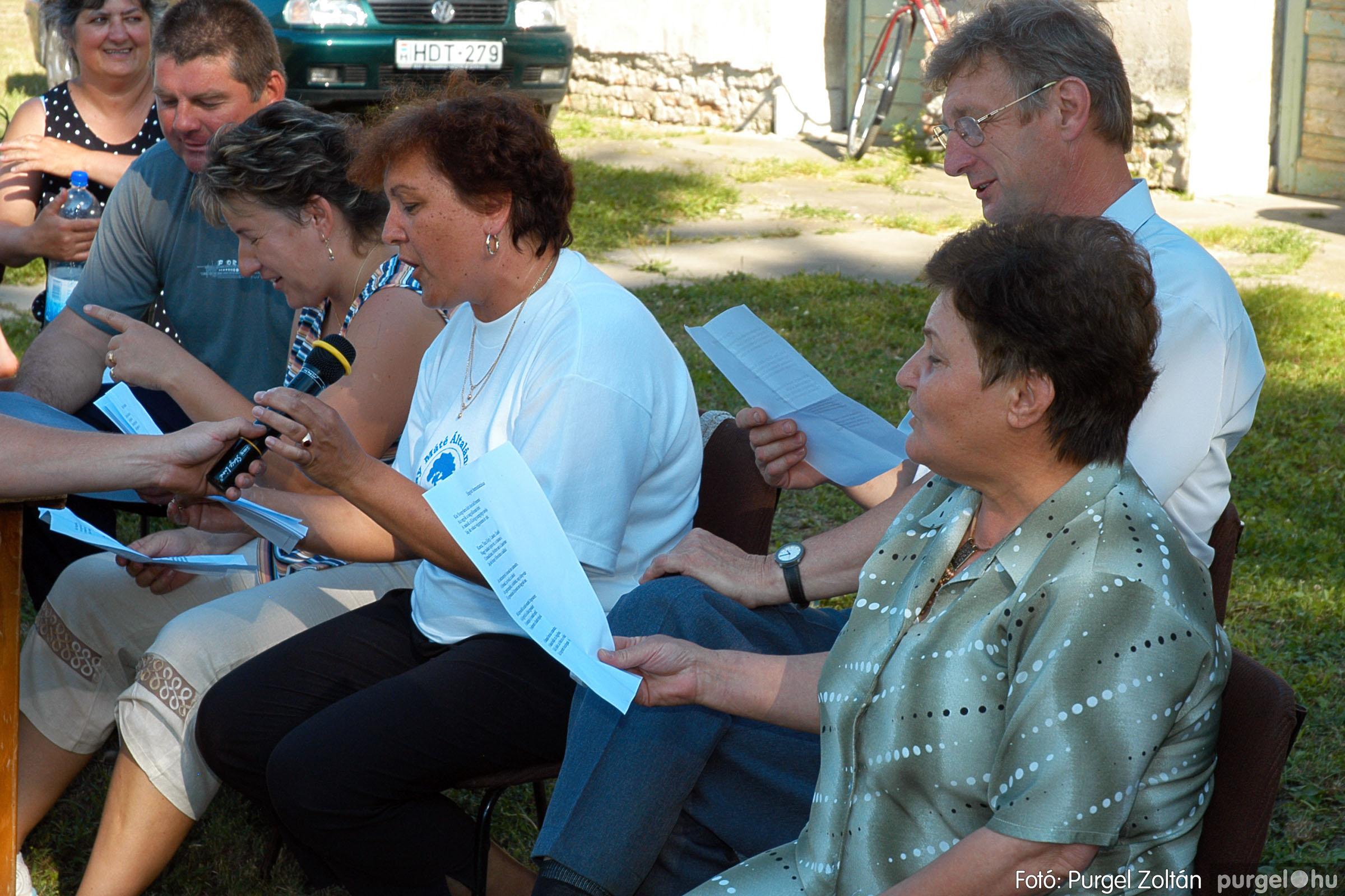 2005.06.25. 052 Szegváriak Szegvárért Közösségfejlesztők Egyesület közösségi nap - Fotó:PURGEL ZOLTÁN©.jpg
