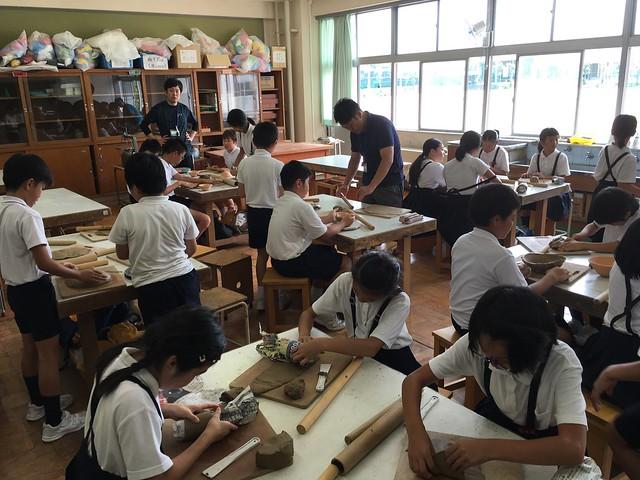 サマースクール 夏休み陶芸教室!