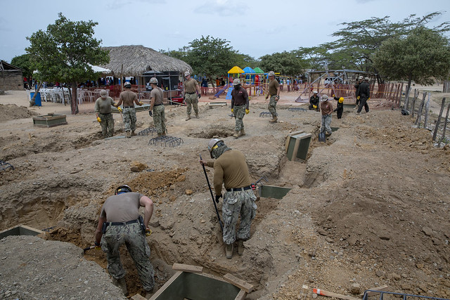 Seabees construct new school in Colombia