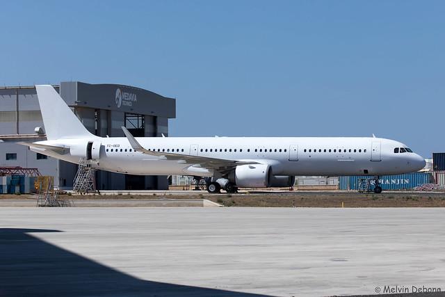 Onur Air Airbus A321-253N |  TC-OED  |  LMML